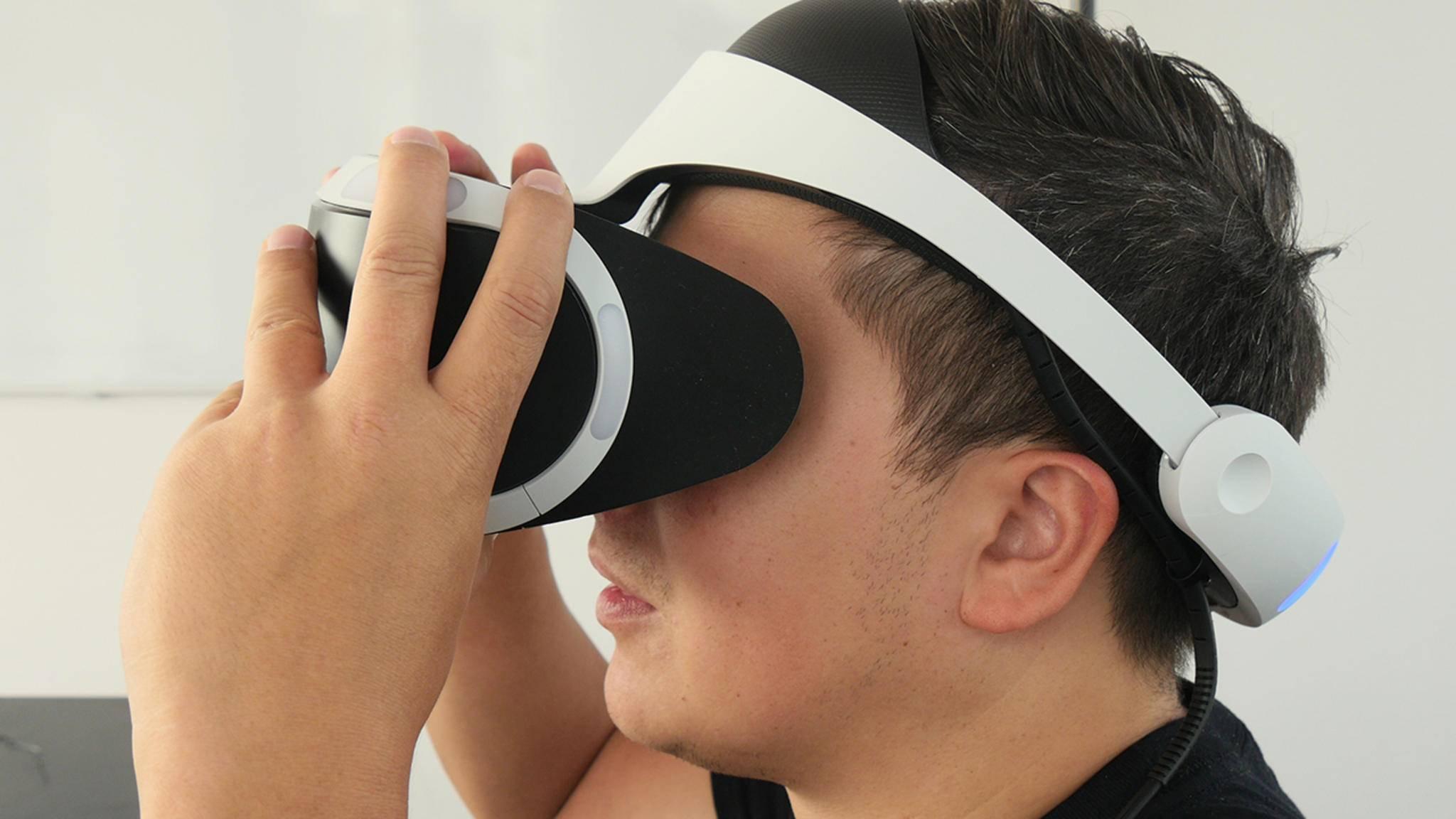 Zukunft verschoben: Die PS5 kann Virtual Reality zum Launch nur abwärtskompatibel.