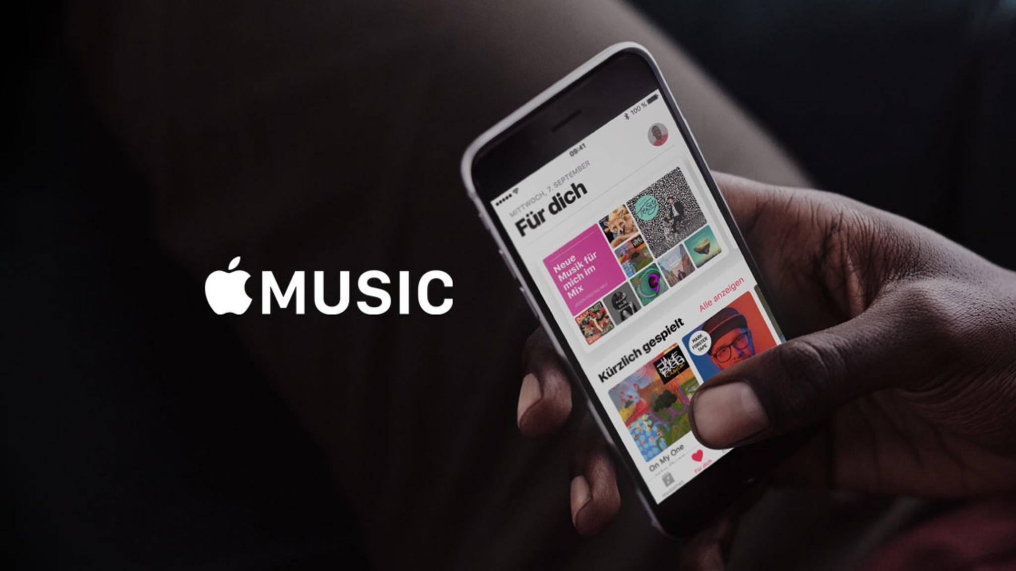 Apple Music lässt sich bald via Android Auto nutzen.