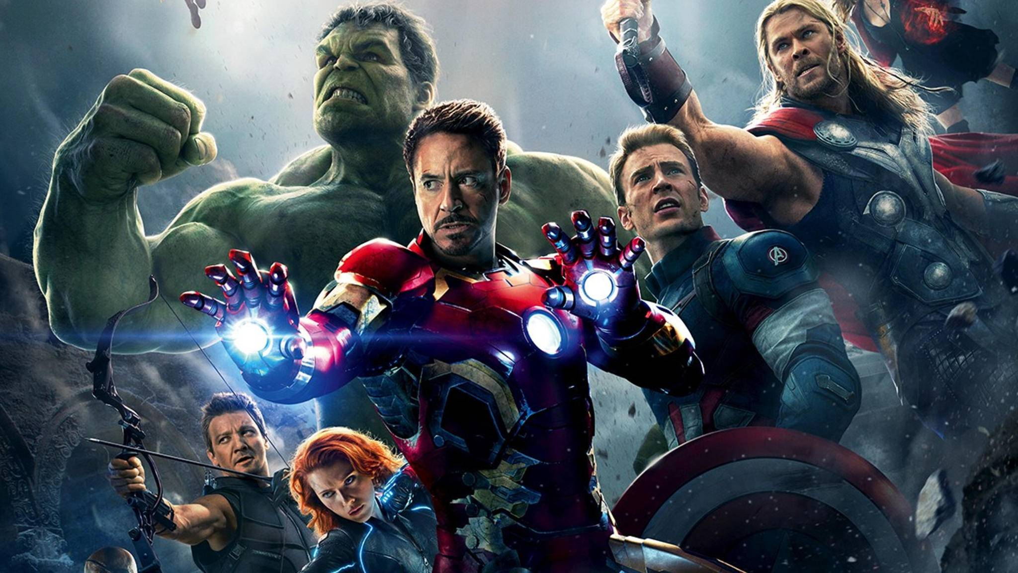 """""""Avengers"""" statt """"Hellboy"""": Jeremy Renner (unten links im Bild) lehnte die Rolle von Red ab."""