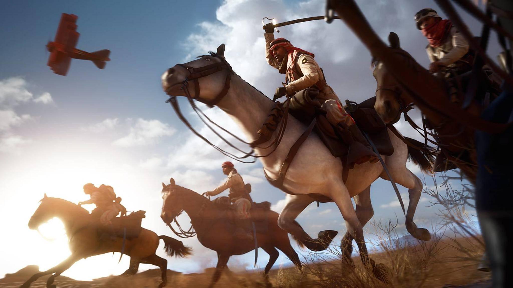 Battlefield 1 Pferde
