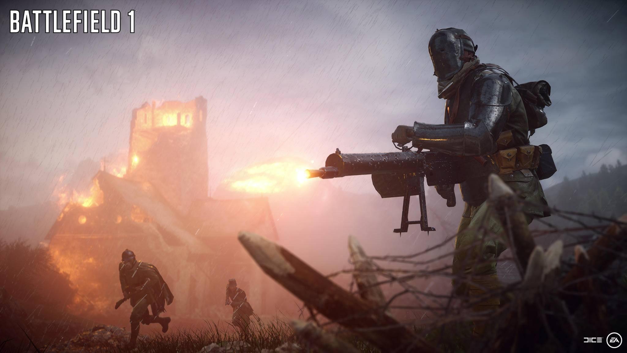 """Im Online-Multiplayer von """"Battlefield 1"""" kämpfst Du auf Schlachtfeldern des Ersten Weltkriegs."""
