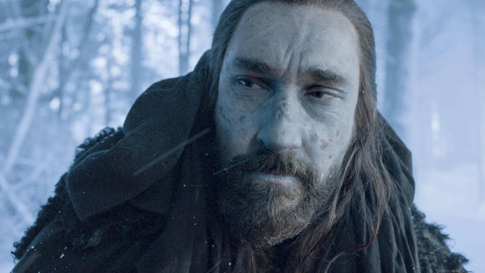 Halb Mensch, halb Weißer Wanderer: Benjen Stark.