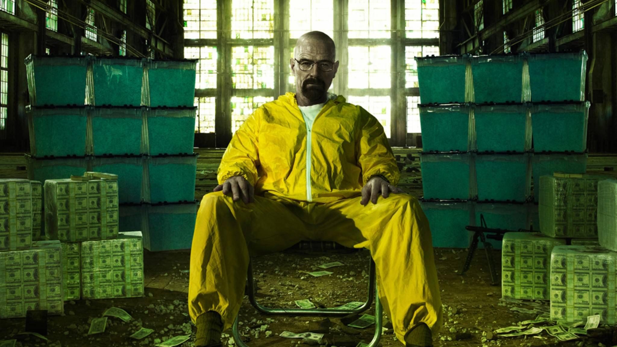 """Bryan Cranston landete nach """"Malcom mitteldrin"""" mit """"Breaking Bad"""" einen weiteren Serienerfolg."""