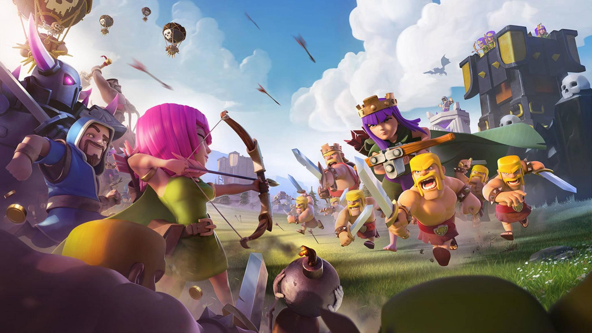 """""""Clash of Clans"""" ist eines der populärsten Free-to-Play-Spiele."""