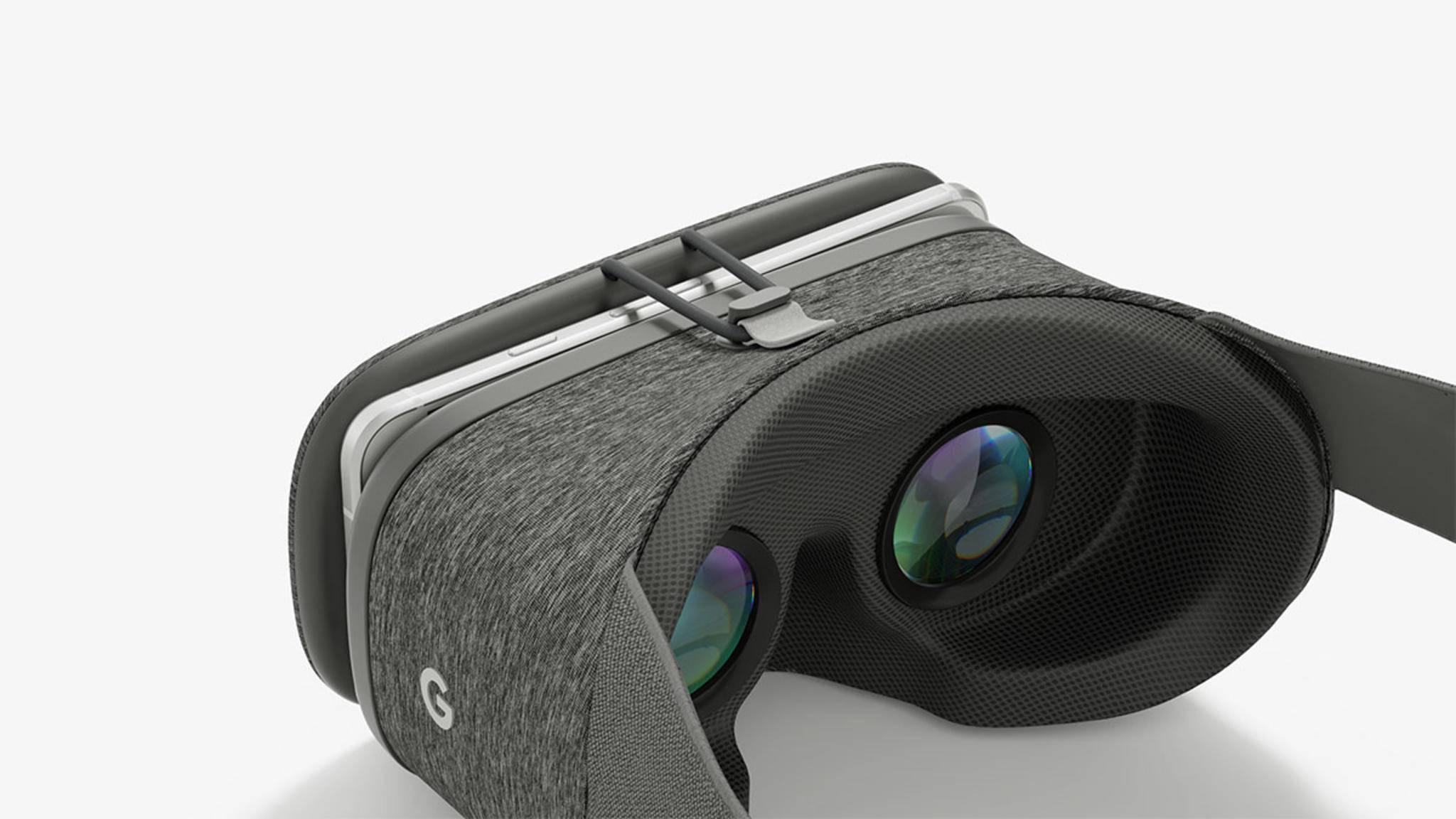Die Daydream View macht Android-Smartphones zu VR-Geräten.