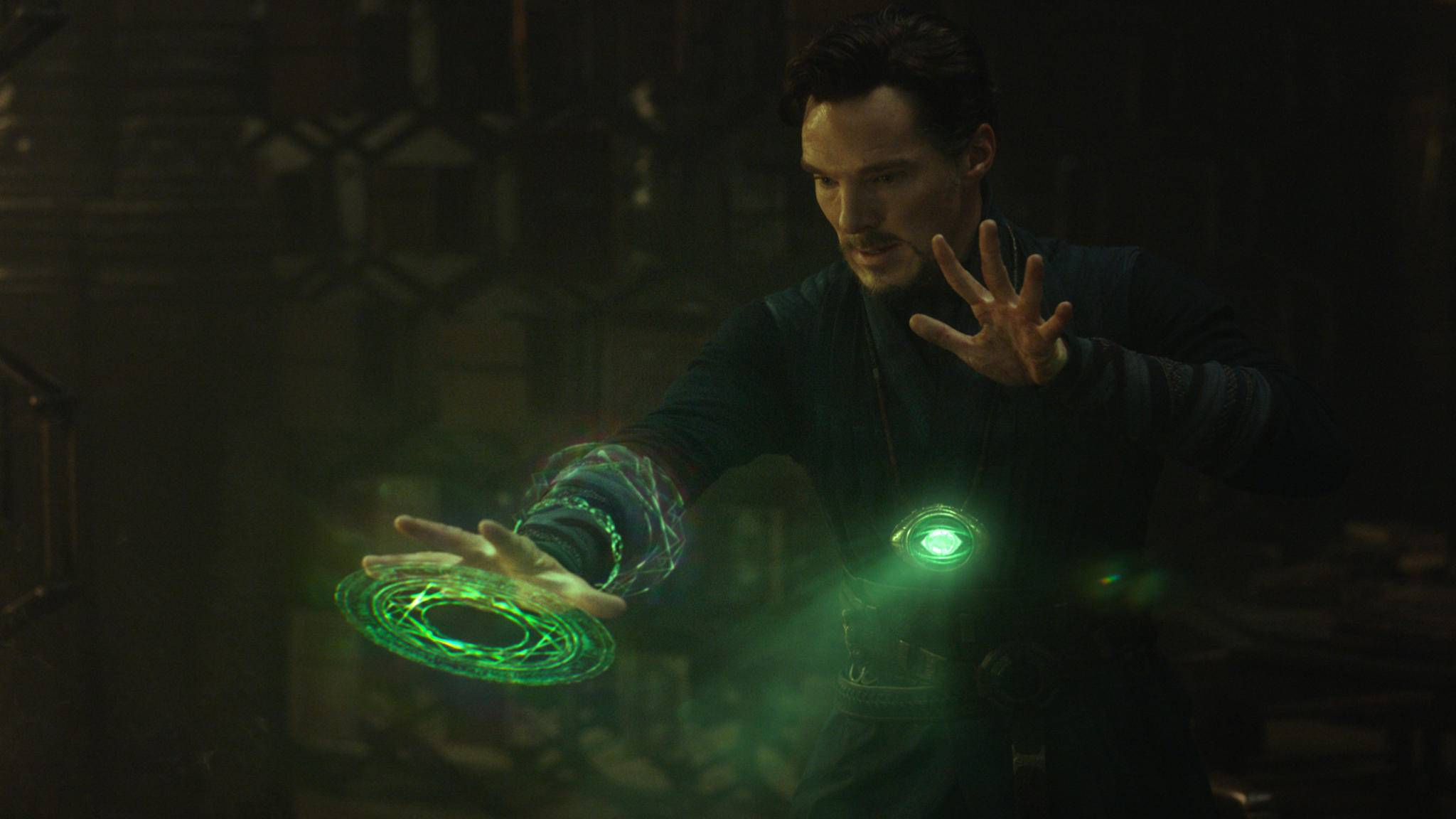 """Hat Doctor Strange auch beim Showdown in """"Avengers: Endgame"""" wieder maßgeblich die Finger im Spiel?"""