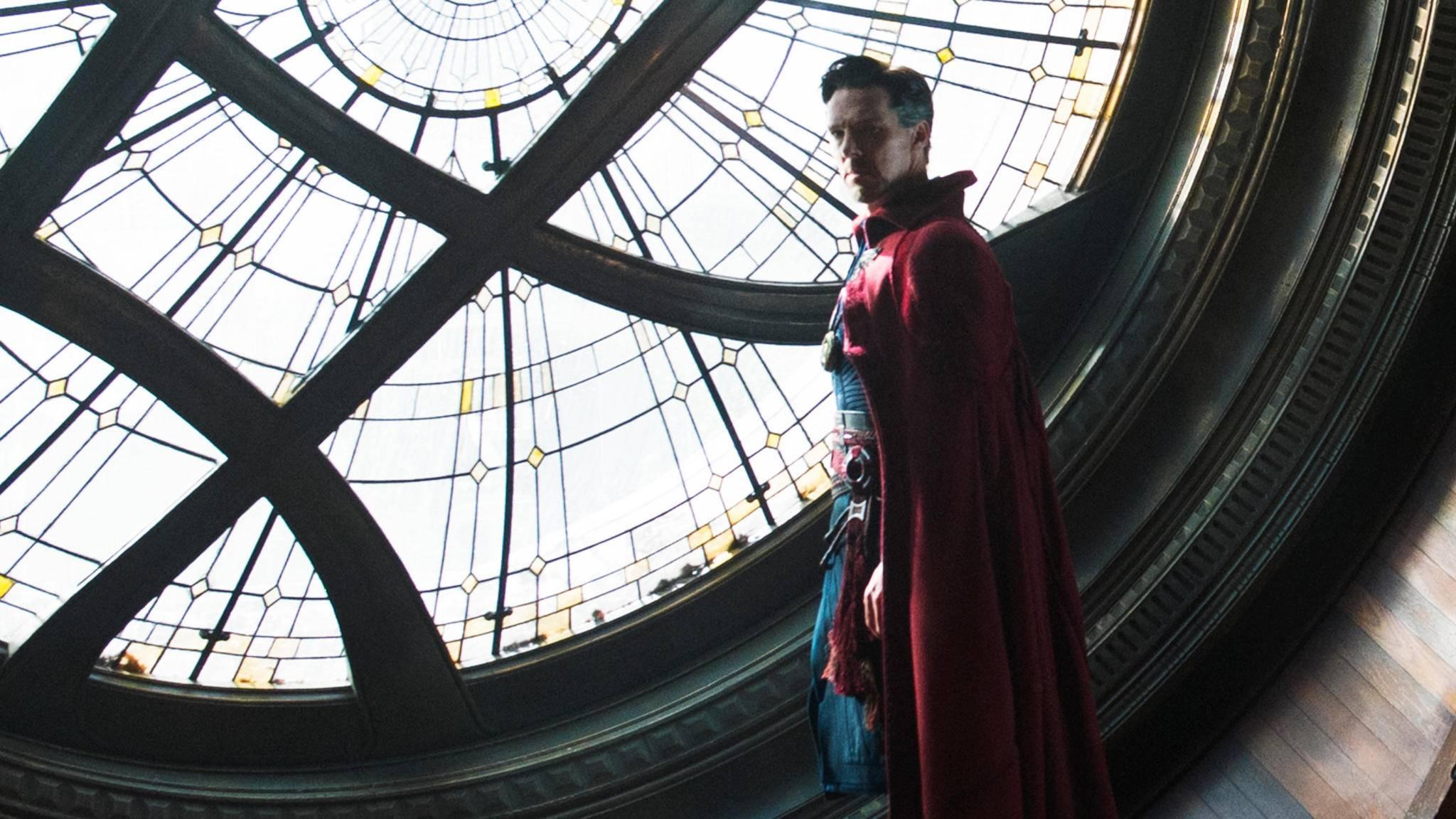 Auch Doctor Strange bleibt zurzeit zu Hause – aber nur bis Juni.