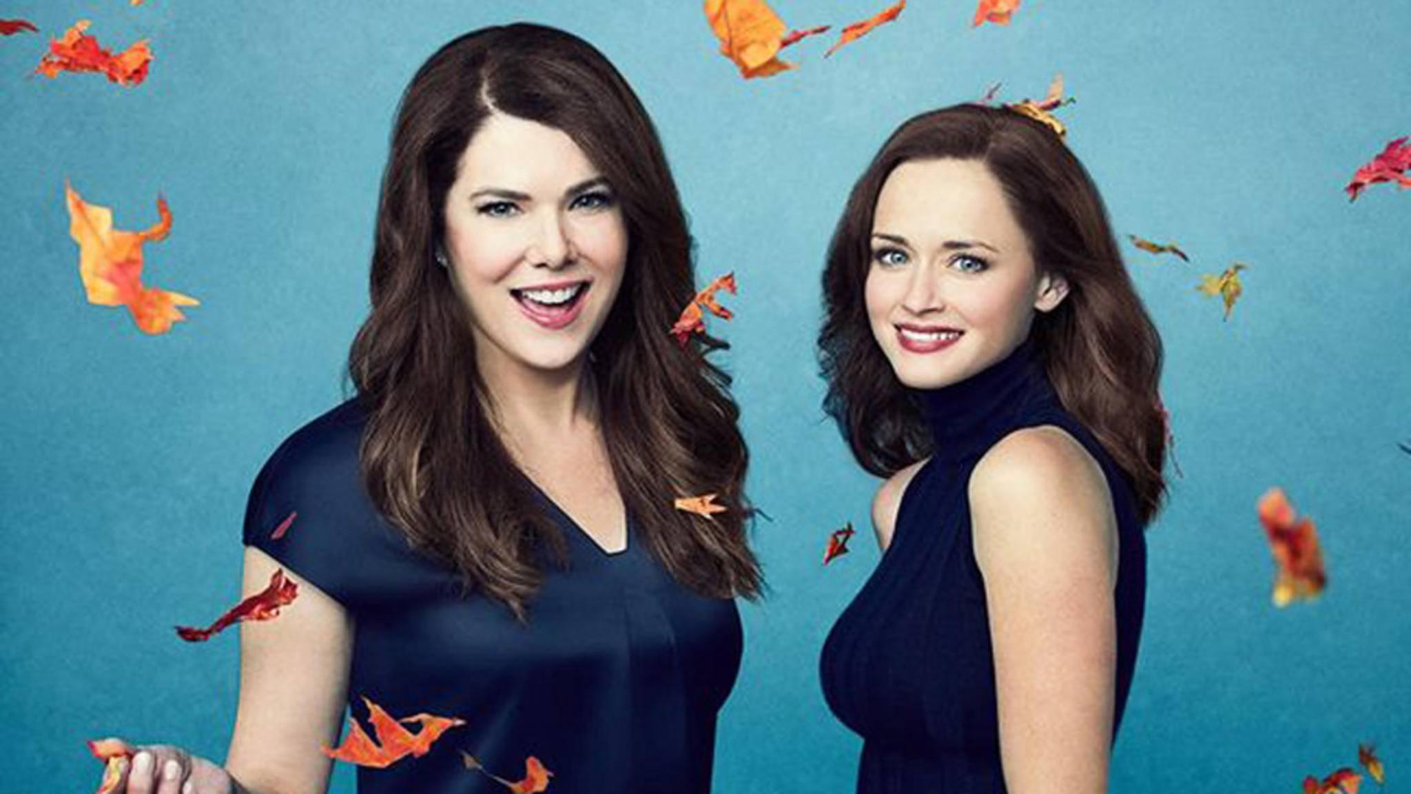 Lorelai und Rory genießen den Herbst.