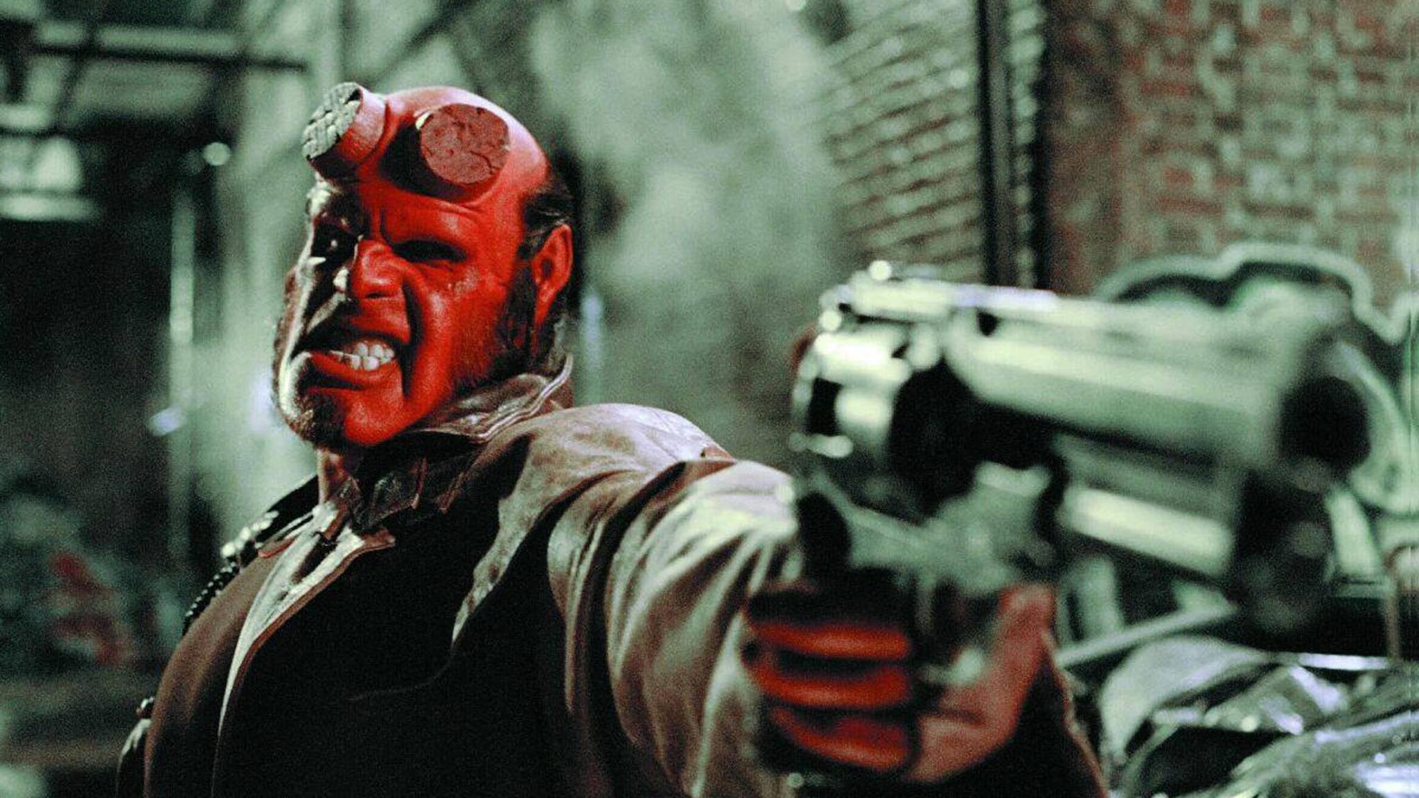 Nicht so böse wie er aussieht: Ron Perlman als Hellboy.