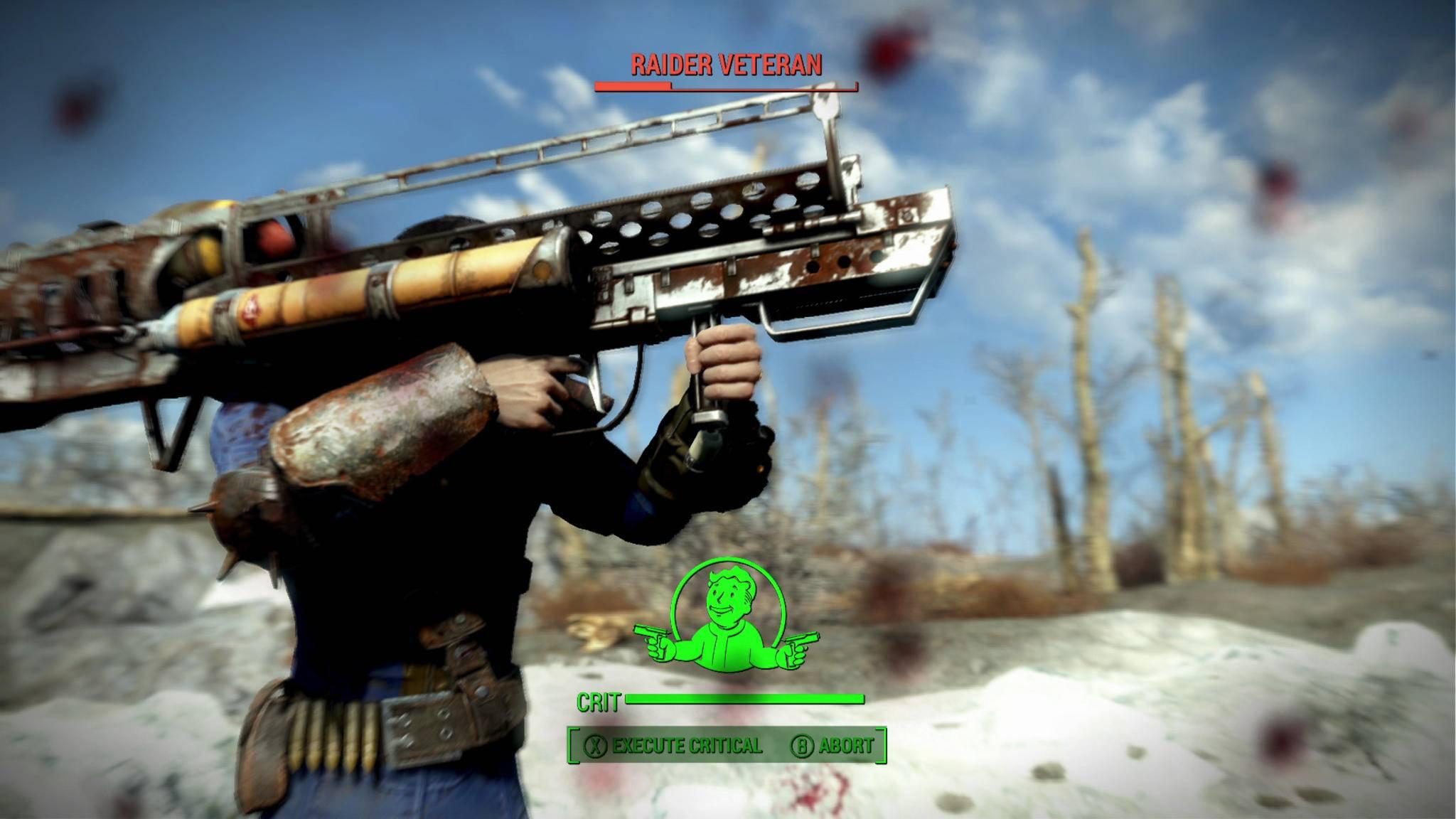 """Vorsicht: Mit dem Fat Man jagt man sich in """"Fallout 4"""" auch gerne selbst in die Luft."""