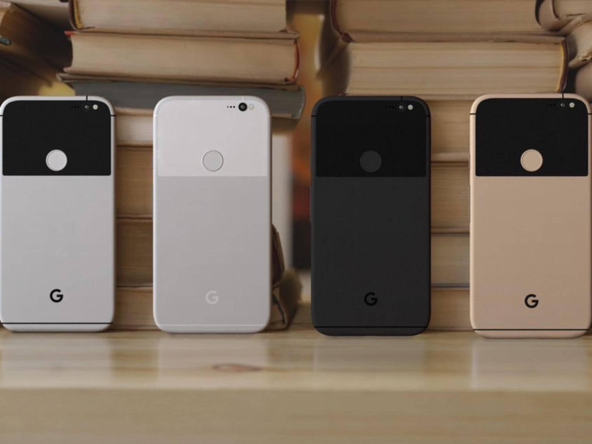 So könnten die neuen Google Phones aussehen.