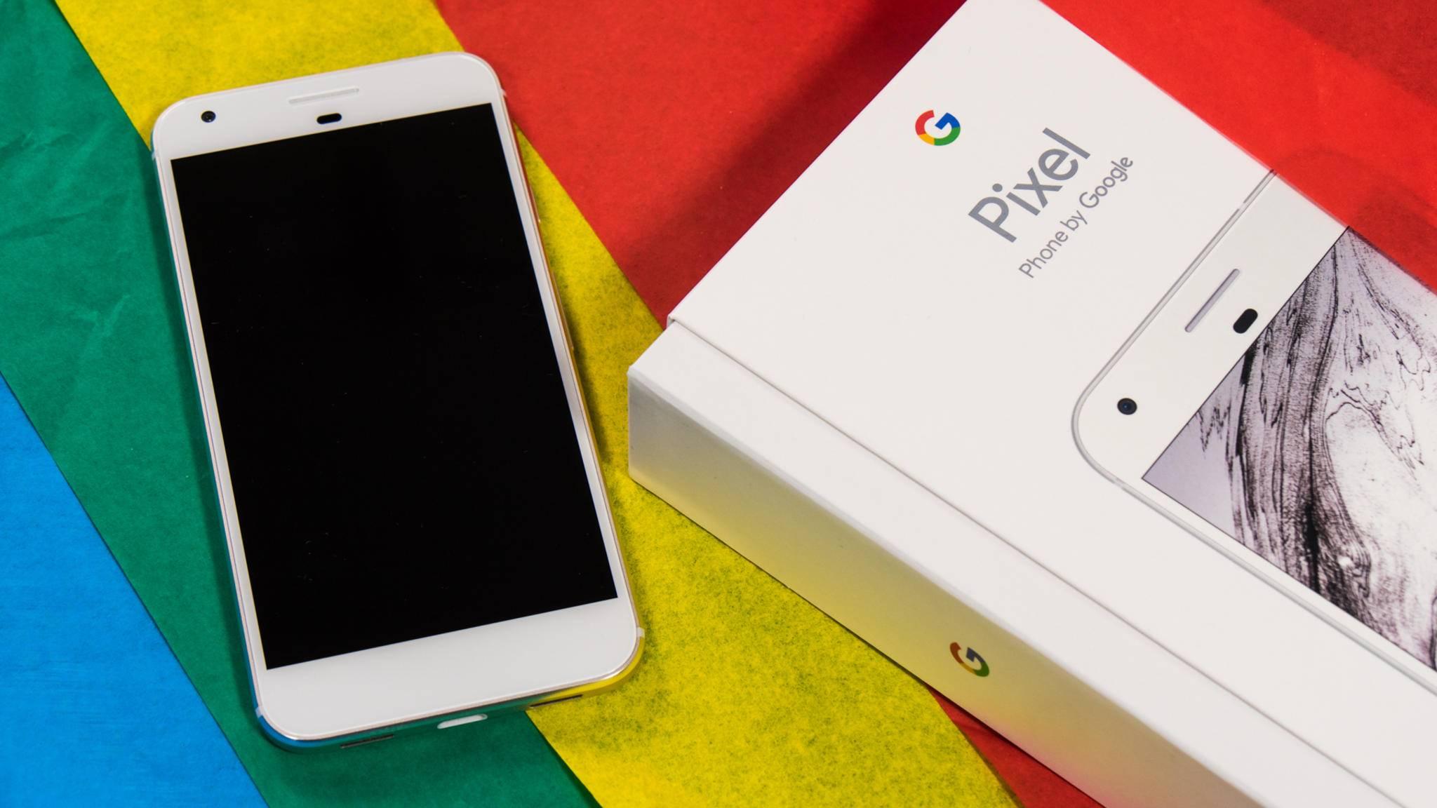 """Gib mir Tiernamen: Das Google Pixel XL bekommt einen """"fischigen"""" Nachfolger."""