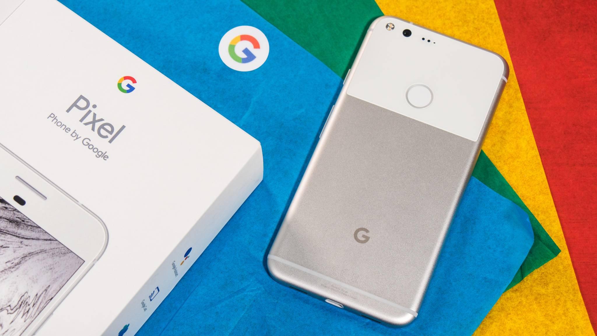 Kein Platz für ein Branding des Auftragsfertigers: Das Google Pixel Phone.