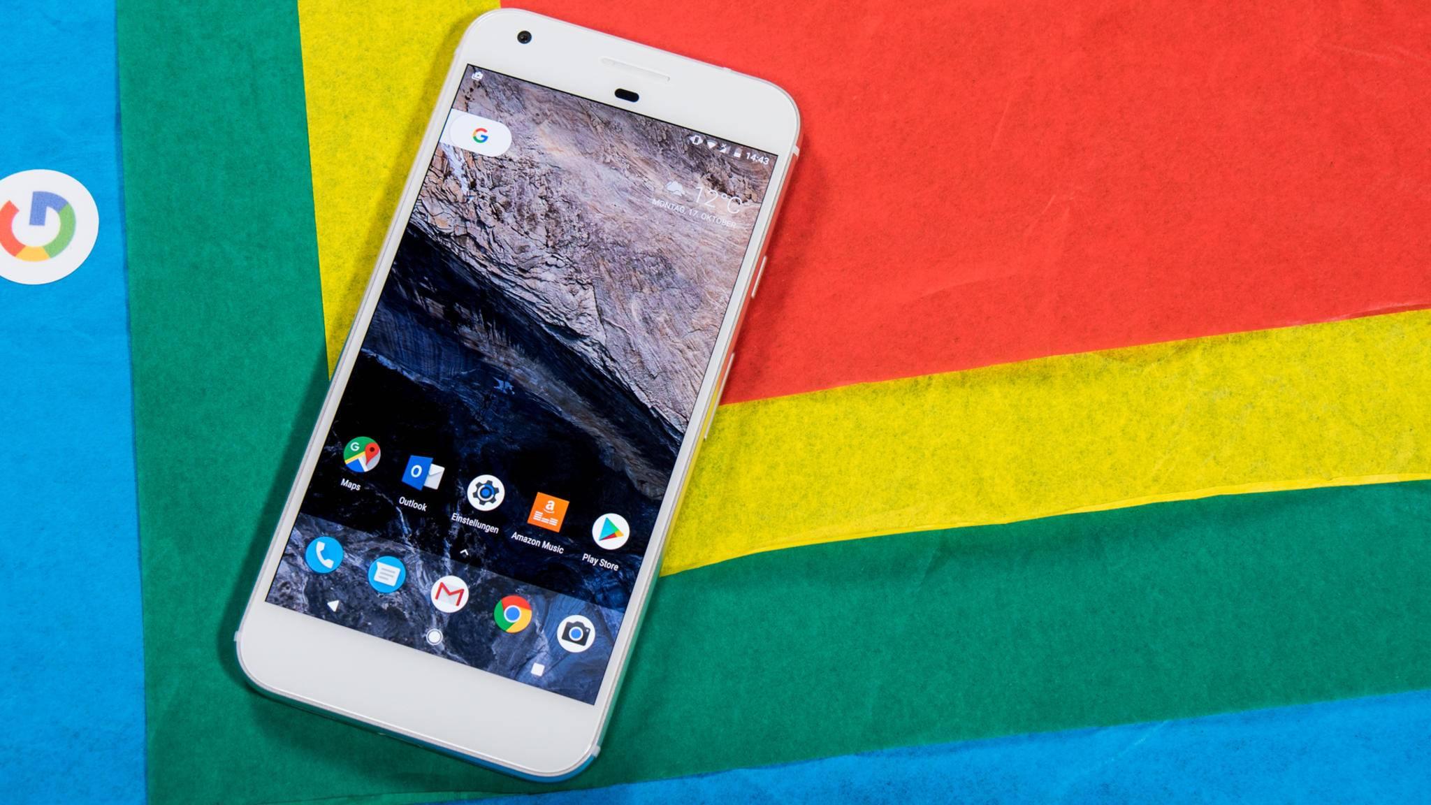 Die neuen Pixel-Smartphones haben zum großen Erfolg Googles 2016 beigetragen.
