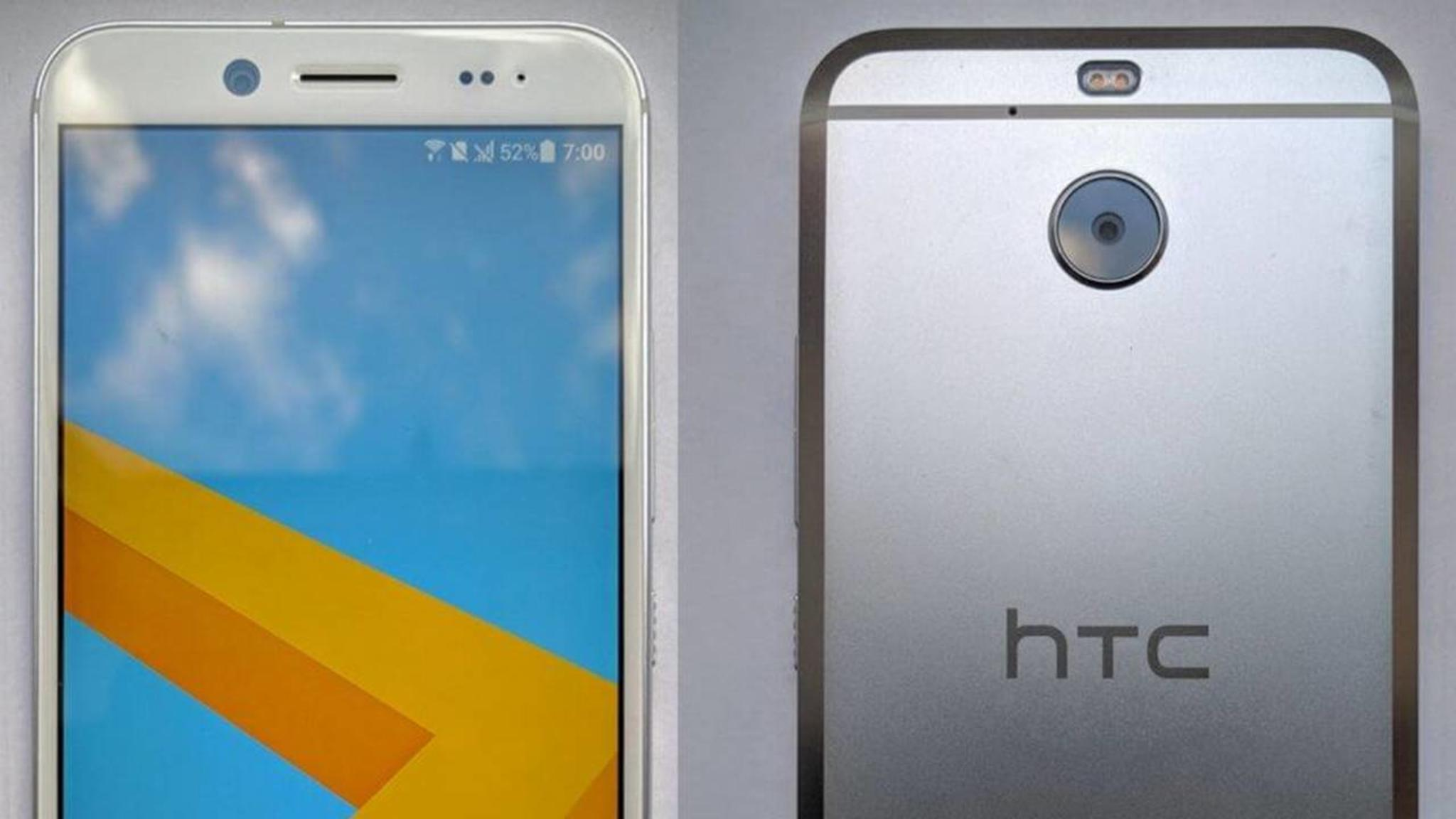 So soll das HTC Bolt aussehen.