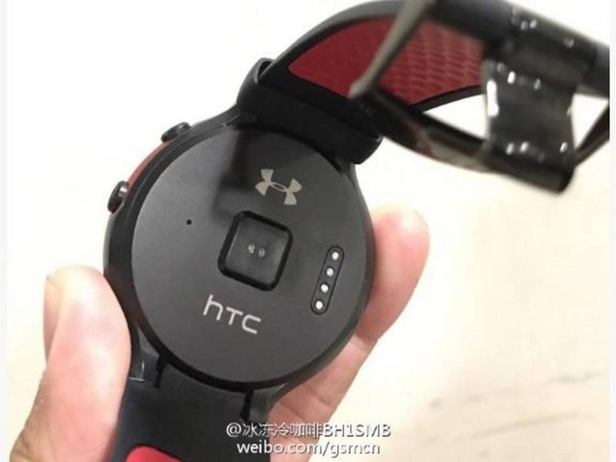 So soll die Smartwatch von HTC aussehen.