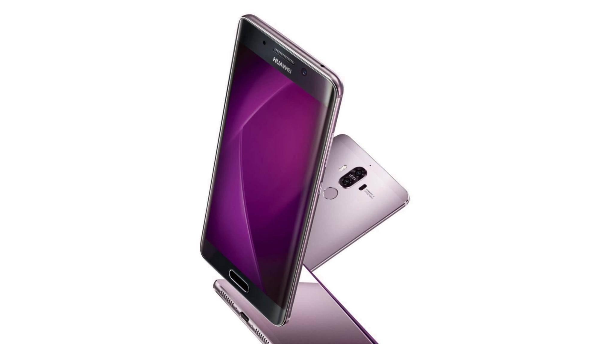 So soll die Pro-Version des Huawei Mate 9 aussehen.
