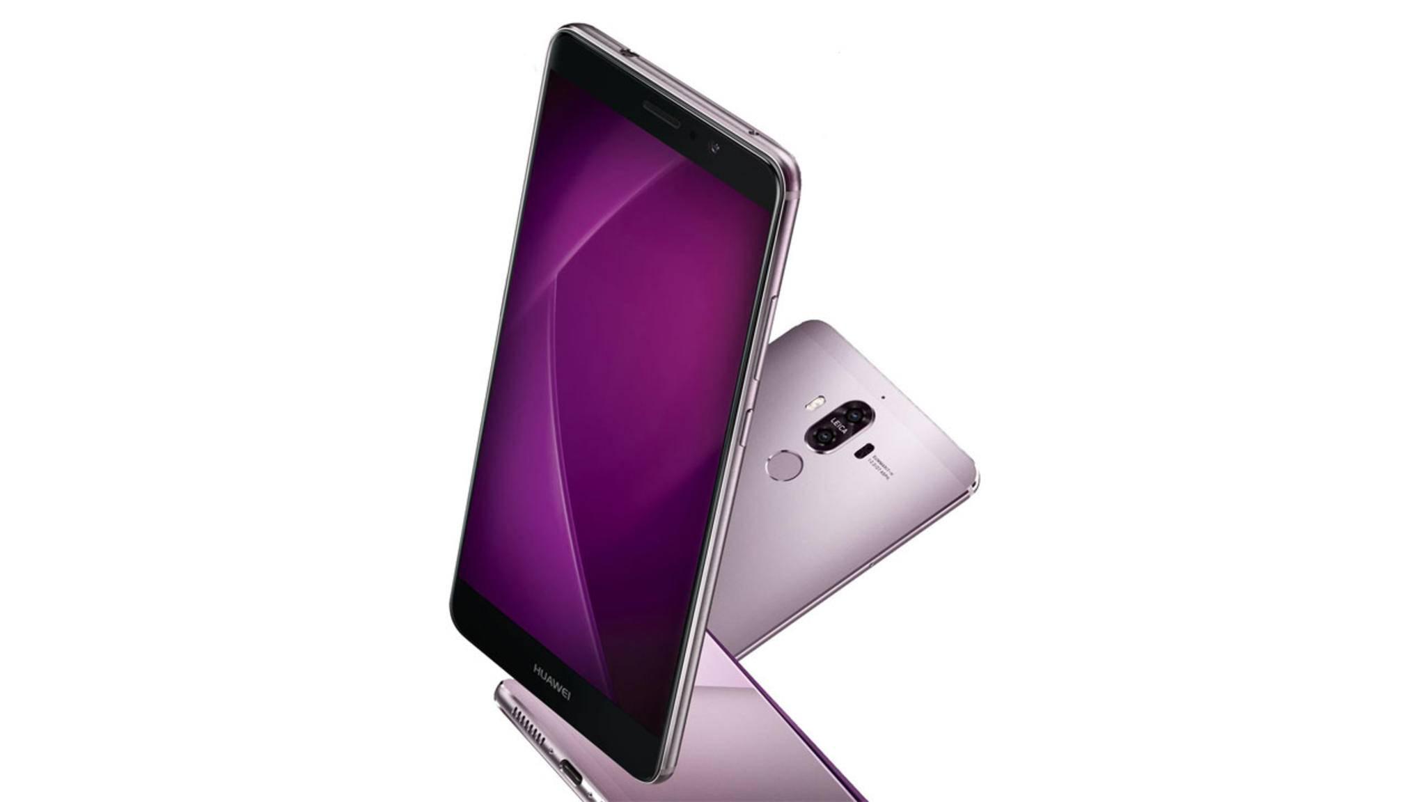 Das Huawei Mate 9 soll einen Edge-Screen bekommen.