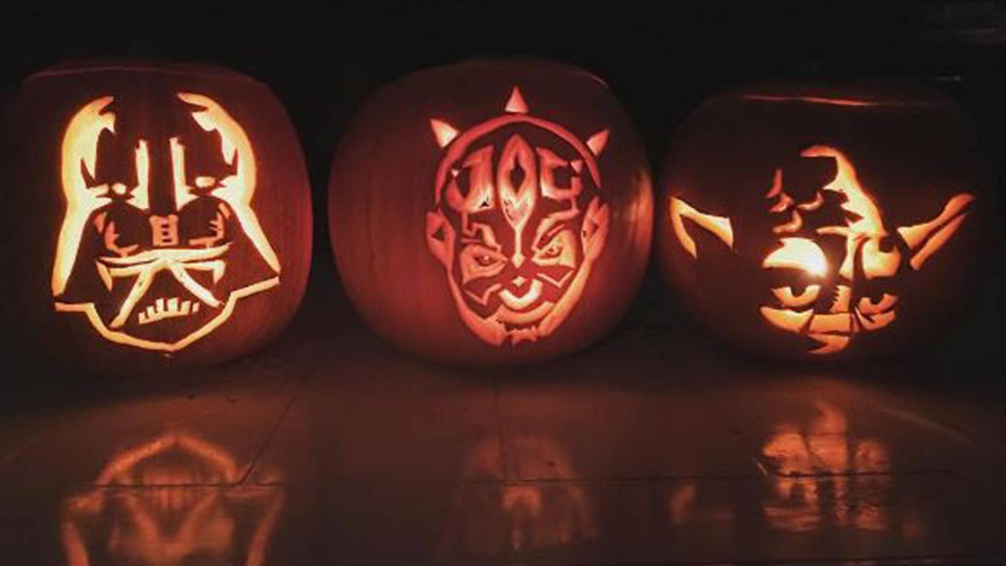 """""""Star Wars""""-Figuren sorgen dieses Halloween für festliche Stimmung."""