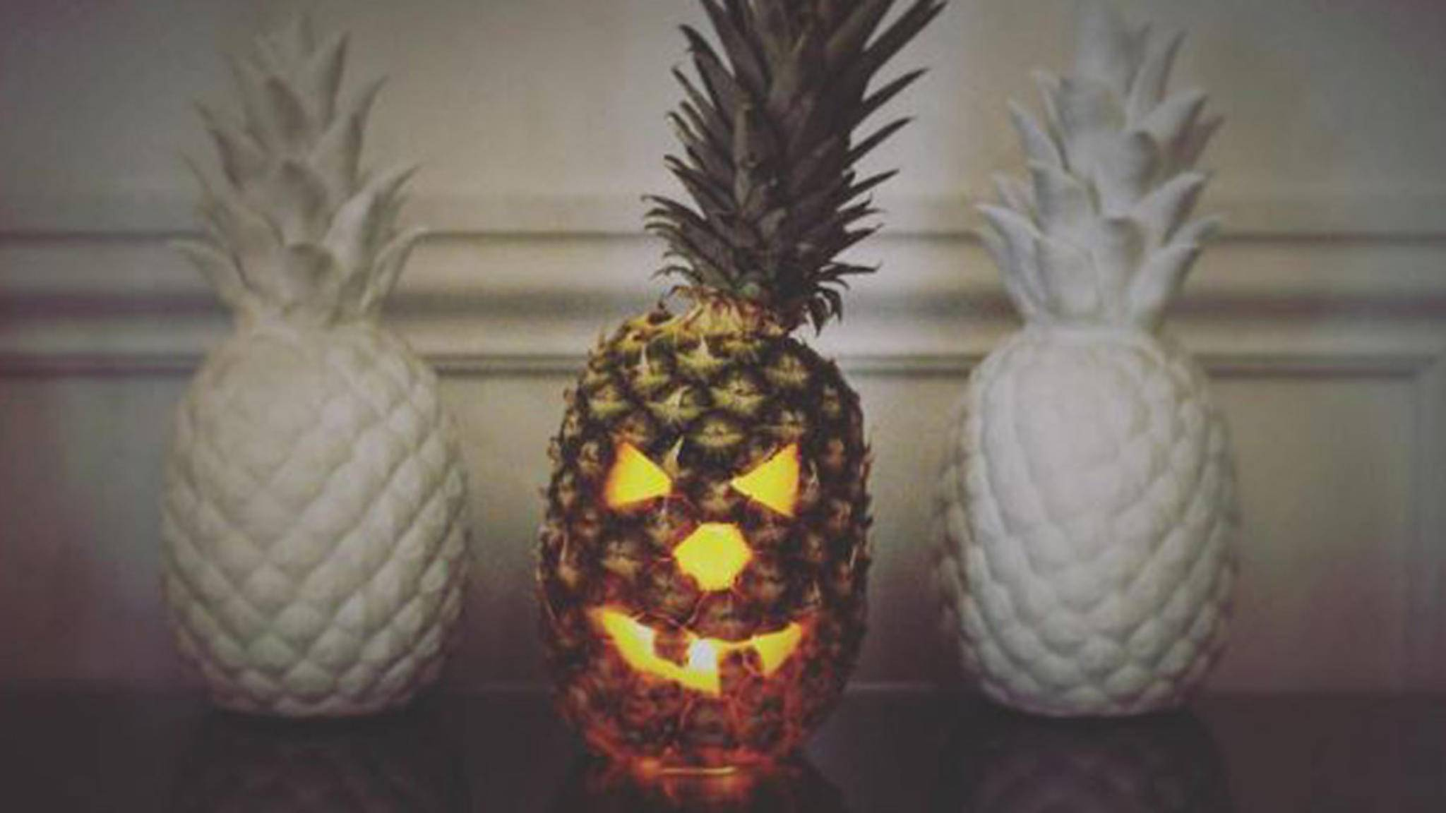 Ananas Halloween