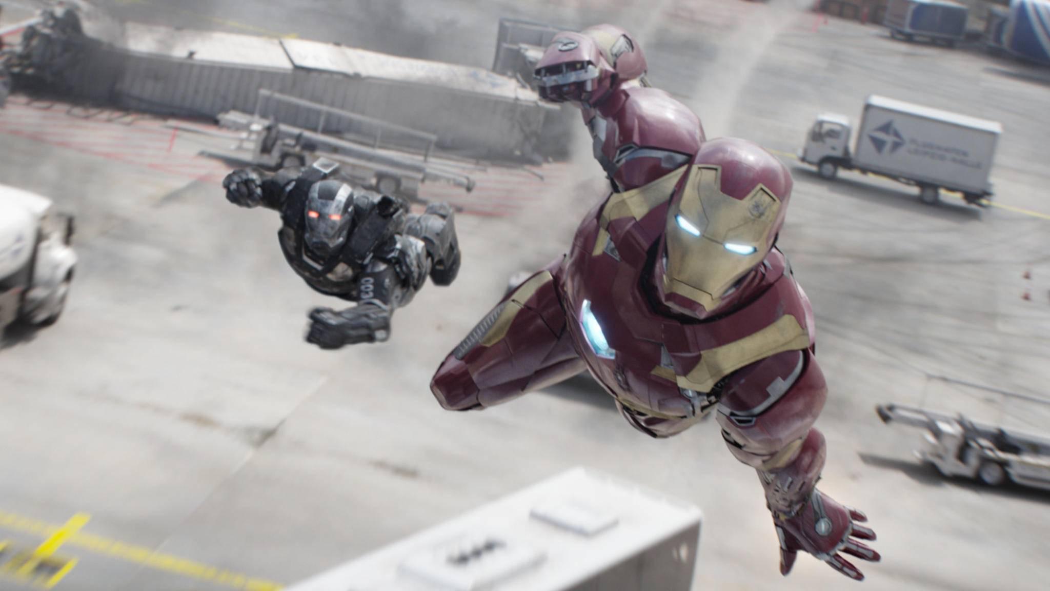 Fliegende Roboteranzüge sind ein Fall für die CGI-Abteilung! Bei Iron Man leistete sie überragende Arbeit.