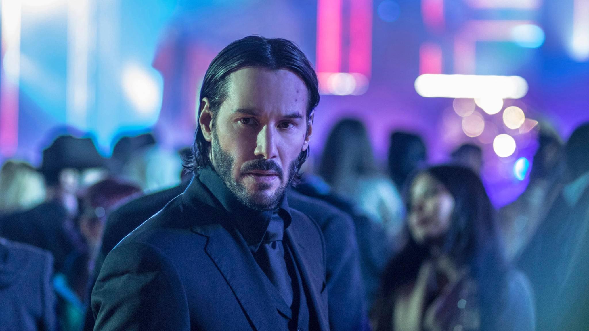 "Keanu Reeves ist in ""John Wick"" als knallharter Auftragskiller zu sehen."