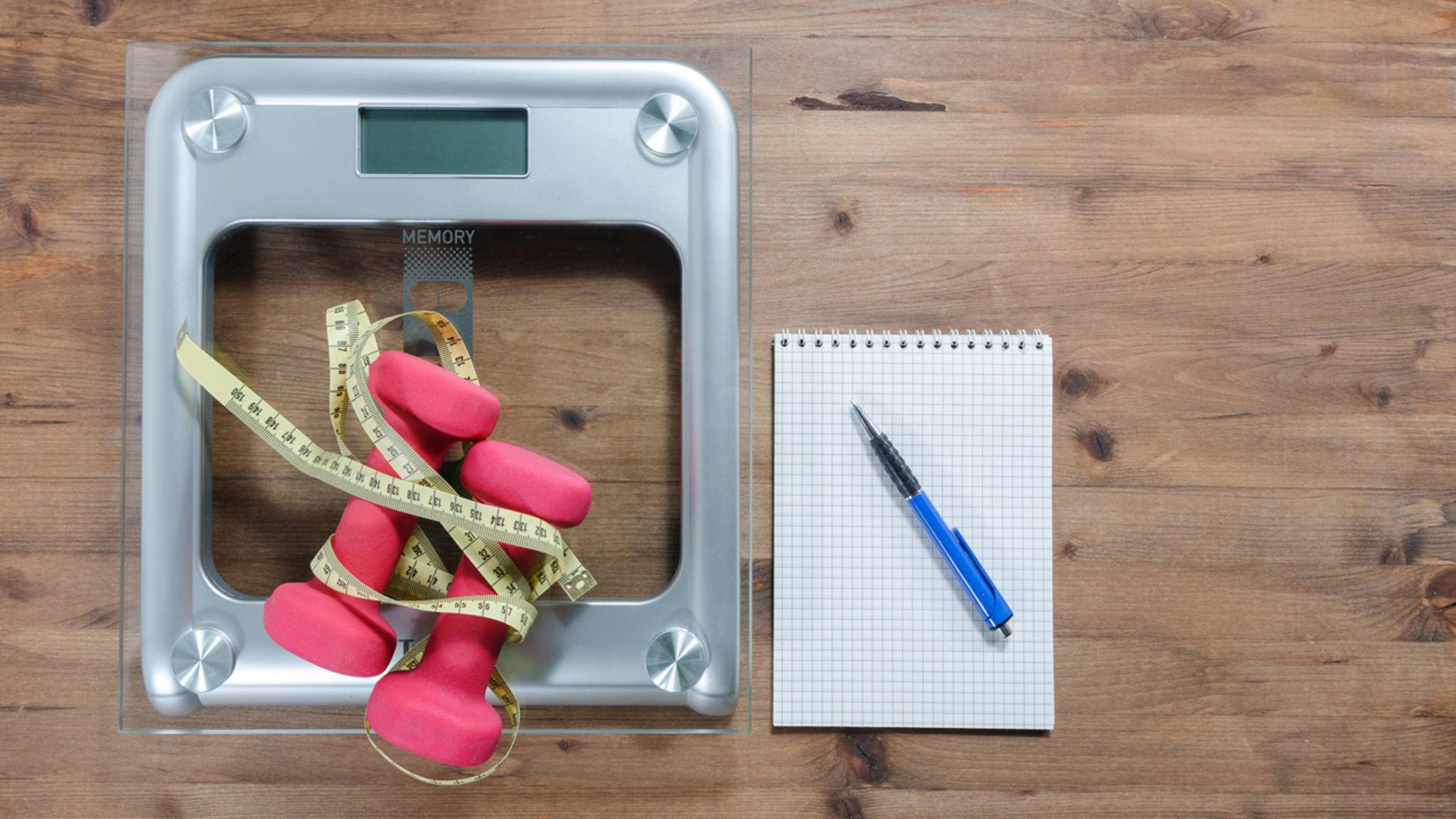 Die Körperzusammensetzung aus Wasser, Muskeln und Fett ist aussagekräftiger als das Gewicht allein.