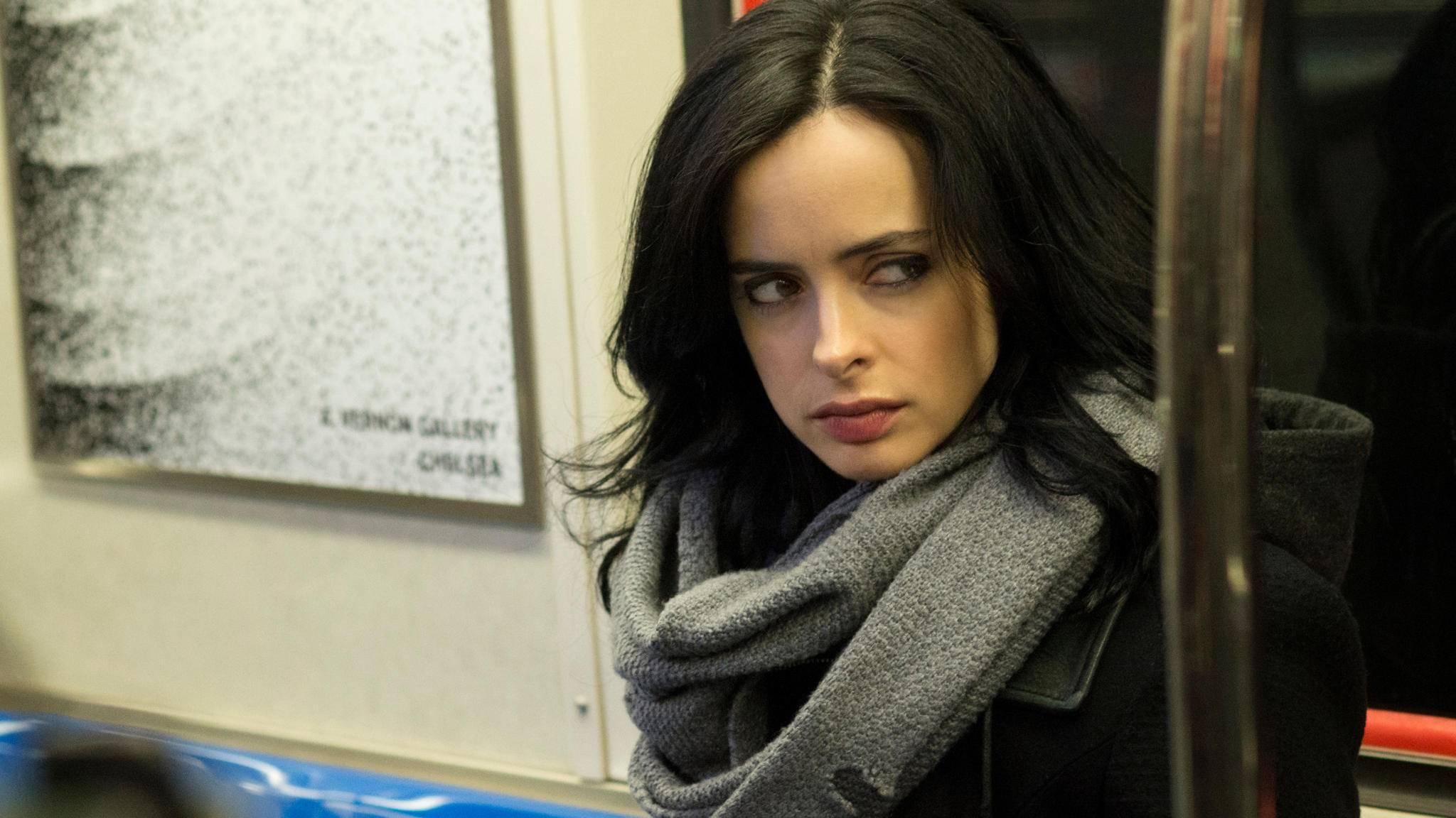 "Superheldin: Krysten Ritter verkörpert in ""Jessica Jones"" eine starke Frau."