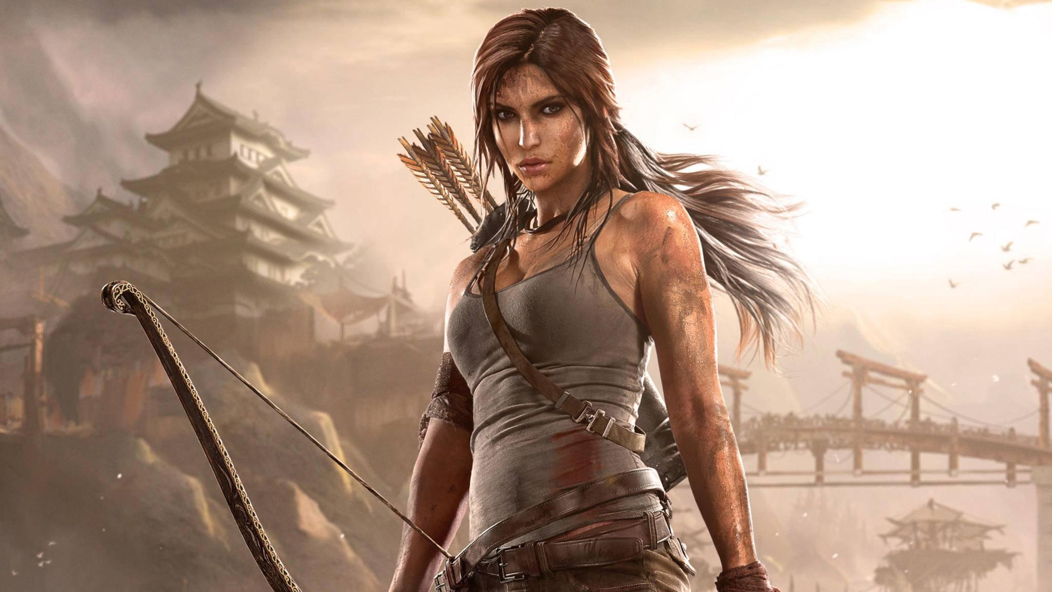 """Konkurrenz für """"RDR2""""? """"Tomb Rider""""-Figur Lara Croft."""