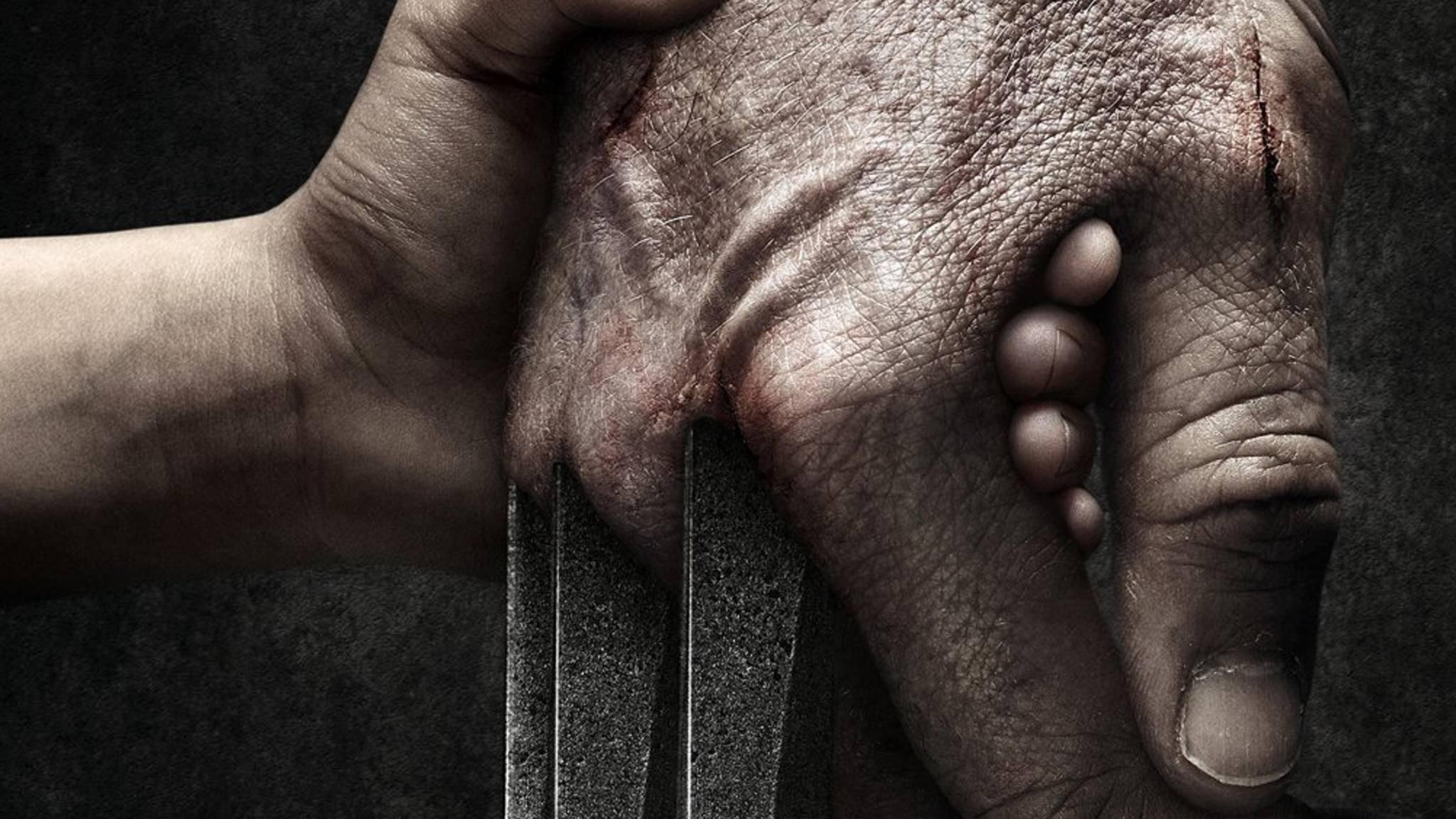 Wer ist das Kind auf dem Wolverine-Plakat?