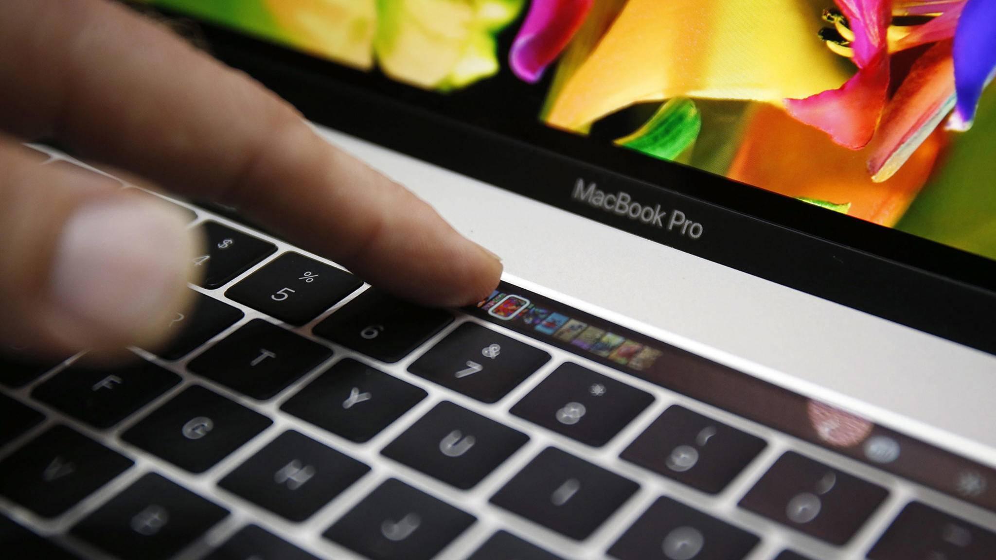 Touch Bars gab es schon lange vor dem MacBook Pro.