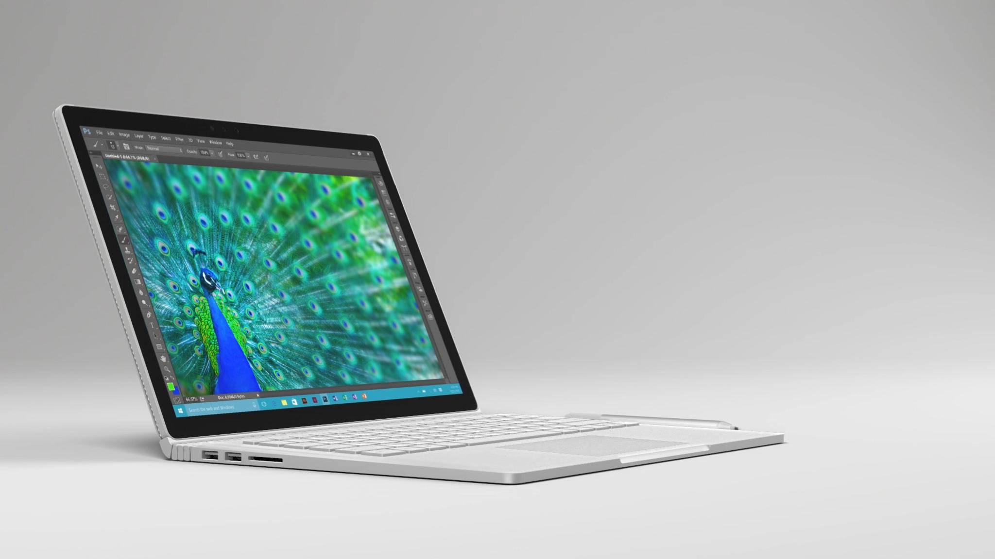 Microsoft greift mit dem Surface Book direkt das MacBook Pro an.