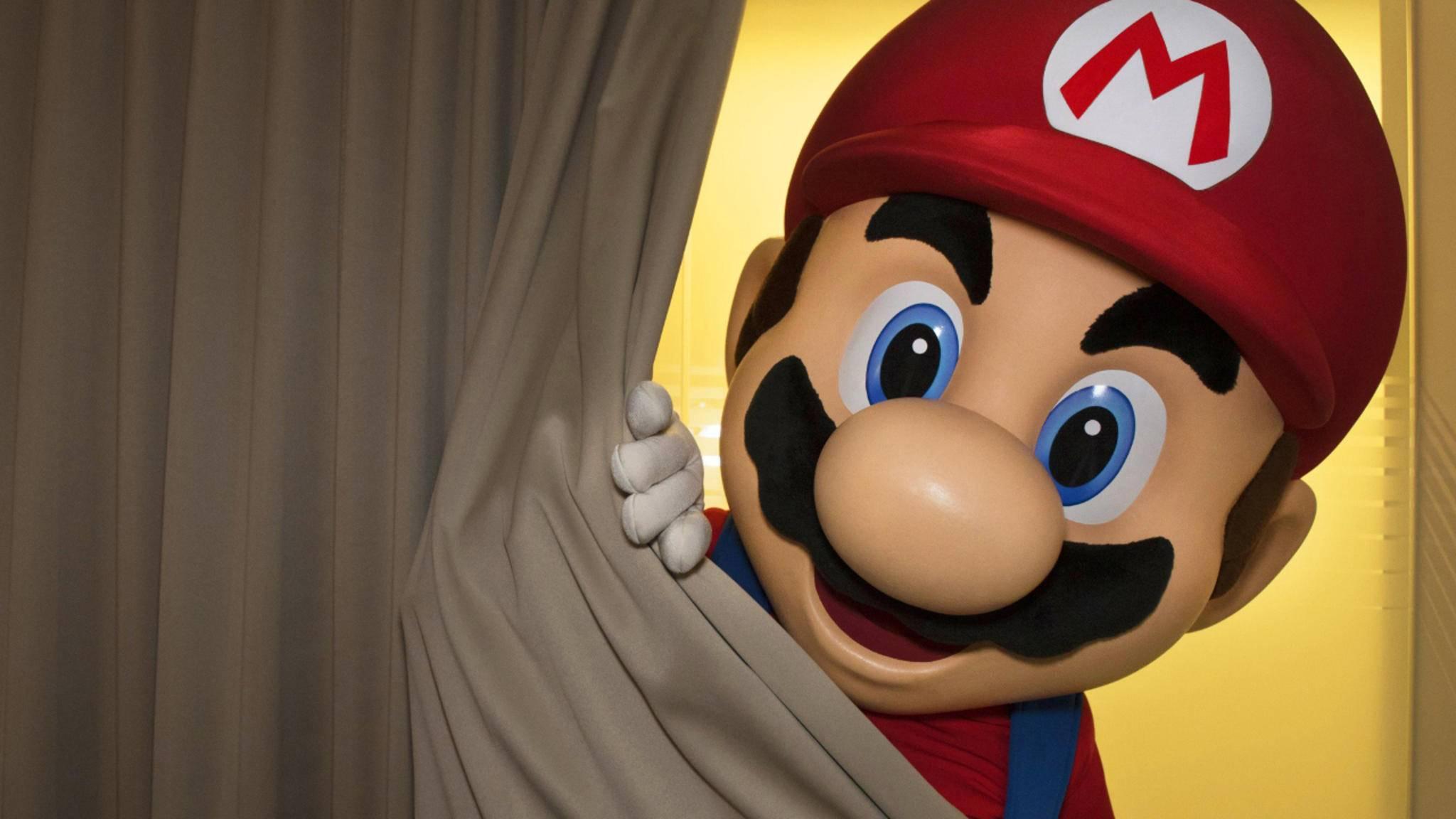 Mario lüftet heute den Vorhang über der Nintendo NX.