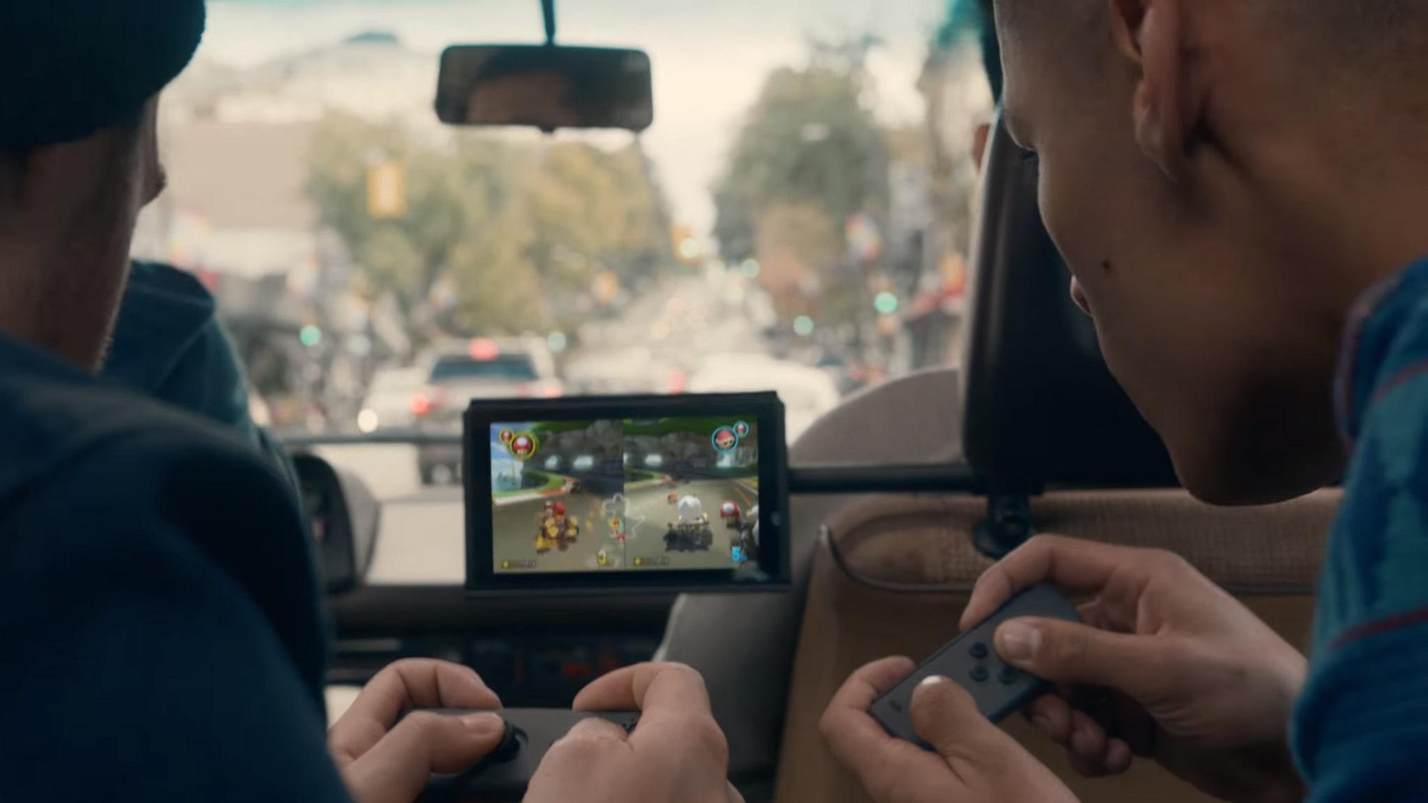 Ist die Nintendo Switch unterwegs nur halb so stark?