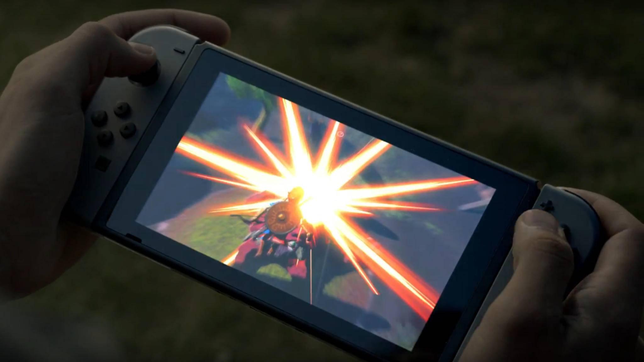 Die Nintendo Switch ist Handheld und Konsole zugleich.