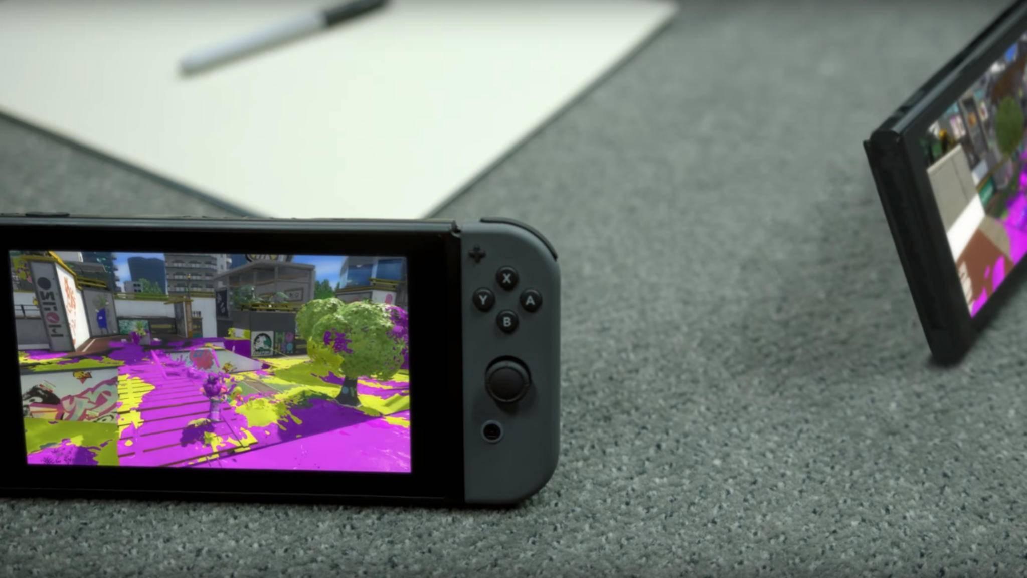 Die Nintendo Switch soll im März 2017 erscheinen.