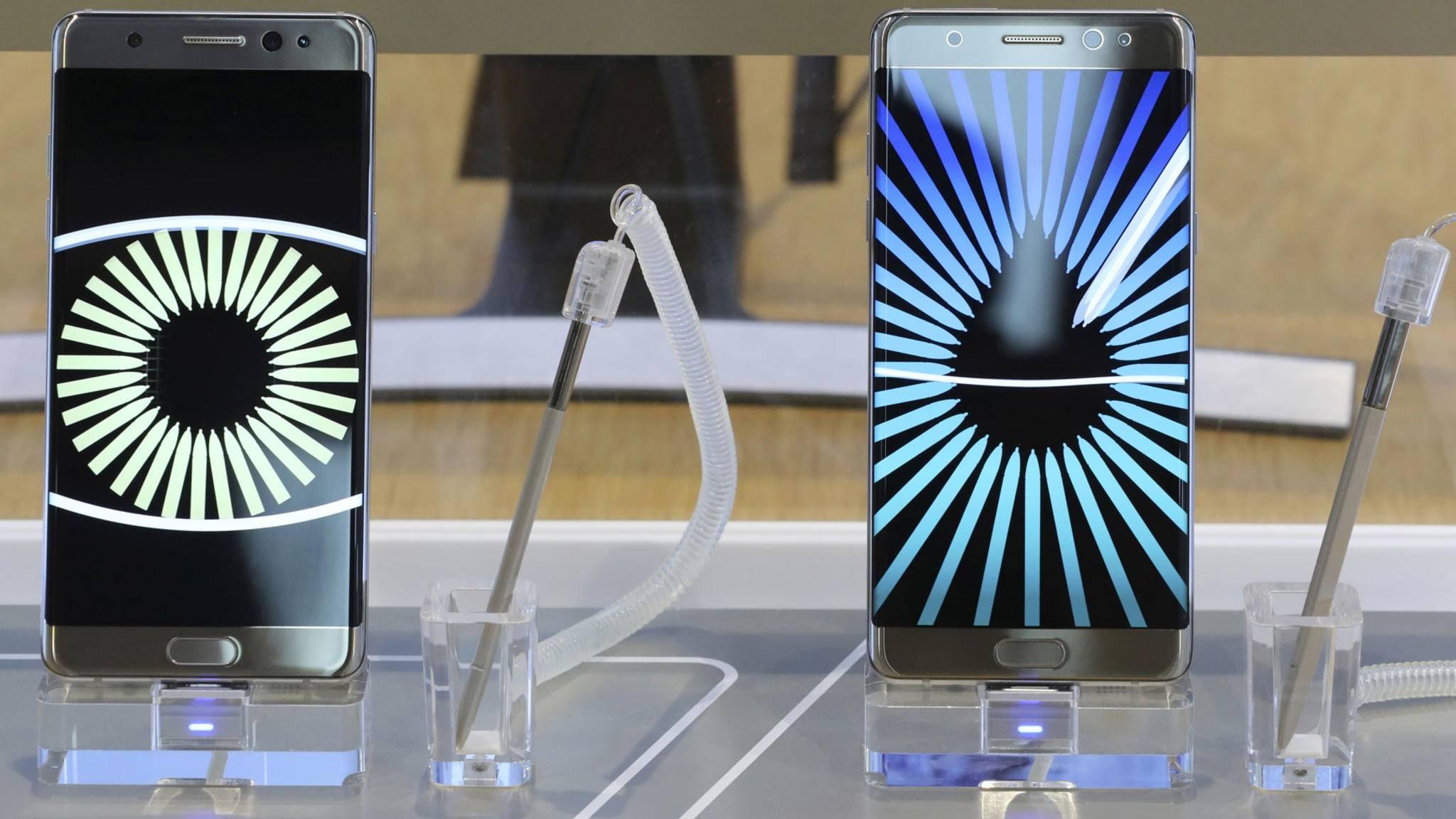 Note 7-Geplagte in Südkorea werden günstig auf das Note 8 oder Galaxy S8 umsteigen können.
