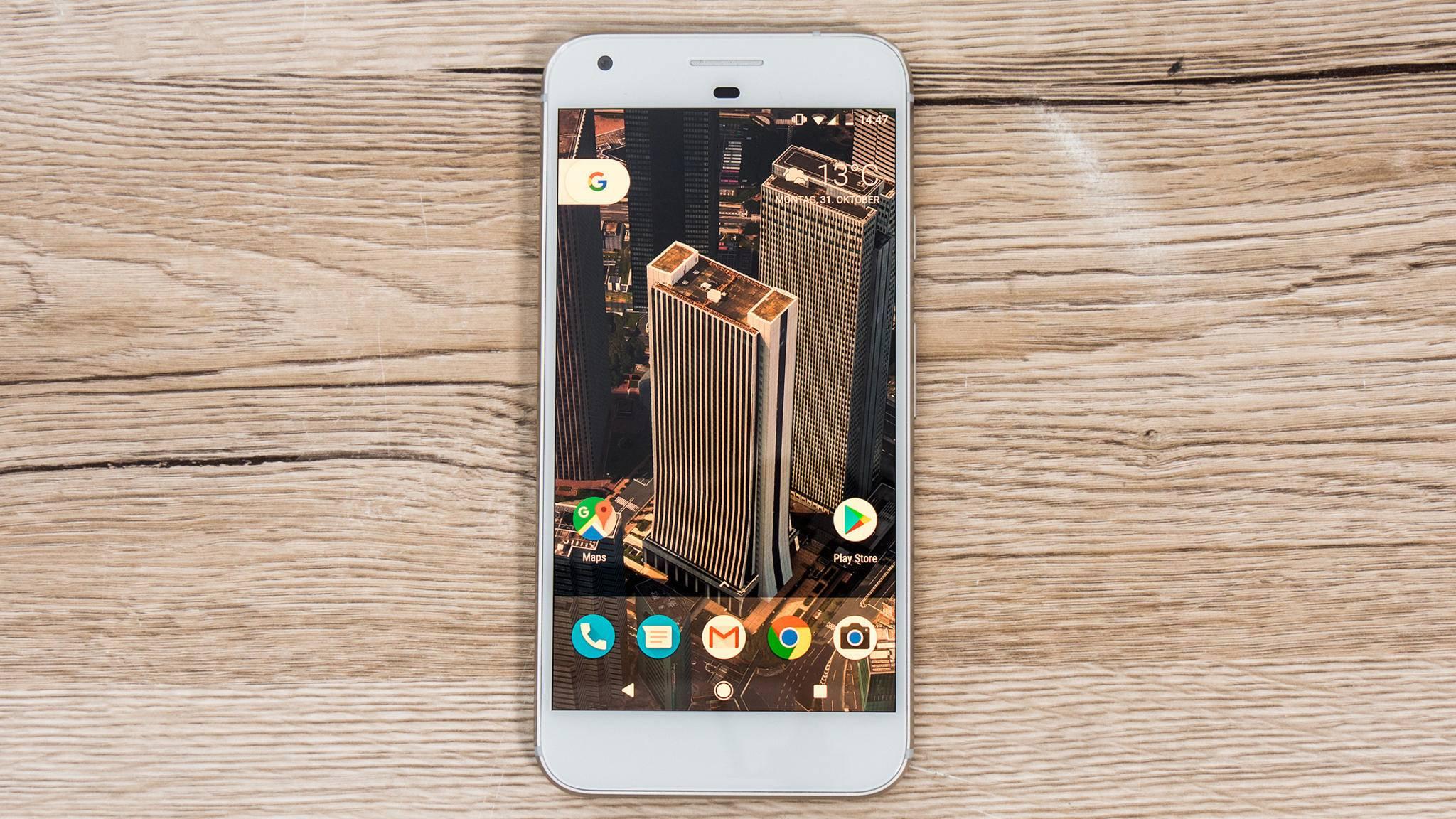 Das Pixel XL überschreitet mit einem 128 GB großen Speicher die 1000-Euro-Grenze.