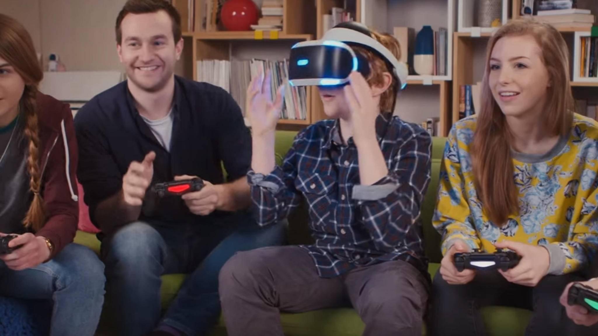 Virtual Reality kann auch gemeinsam viel Spaß bringen.