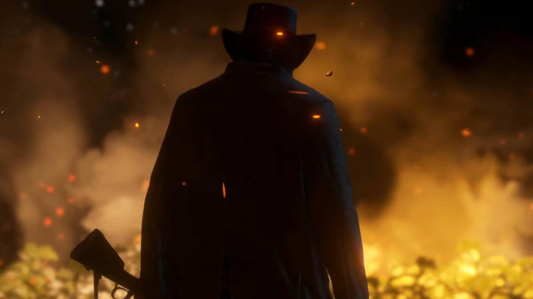 """Wer ist der mysteriöse Mann im """"Red Dead Redemption 2""""-Trailer?"""