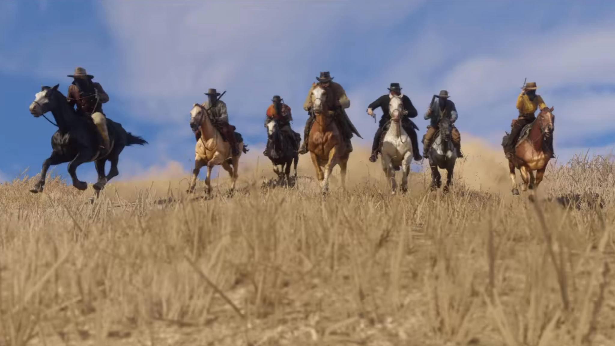 """In """"Red Dead Redemption 2"""" soll es gleich drei spielbare Charaktere geben."""