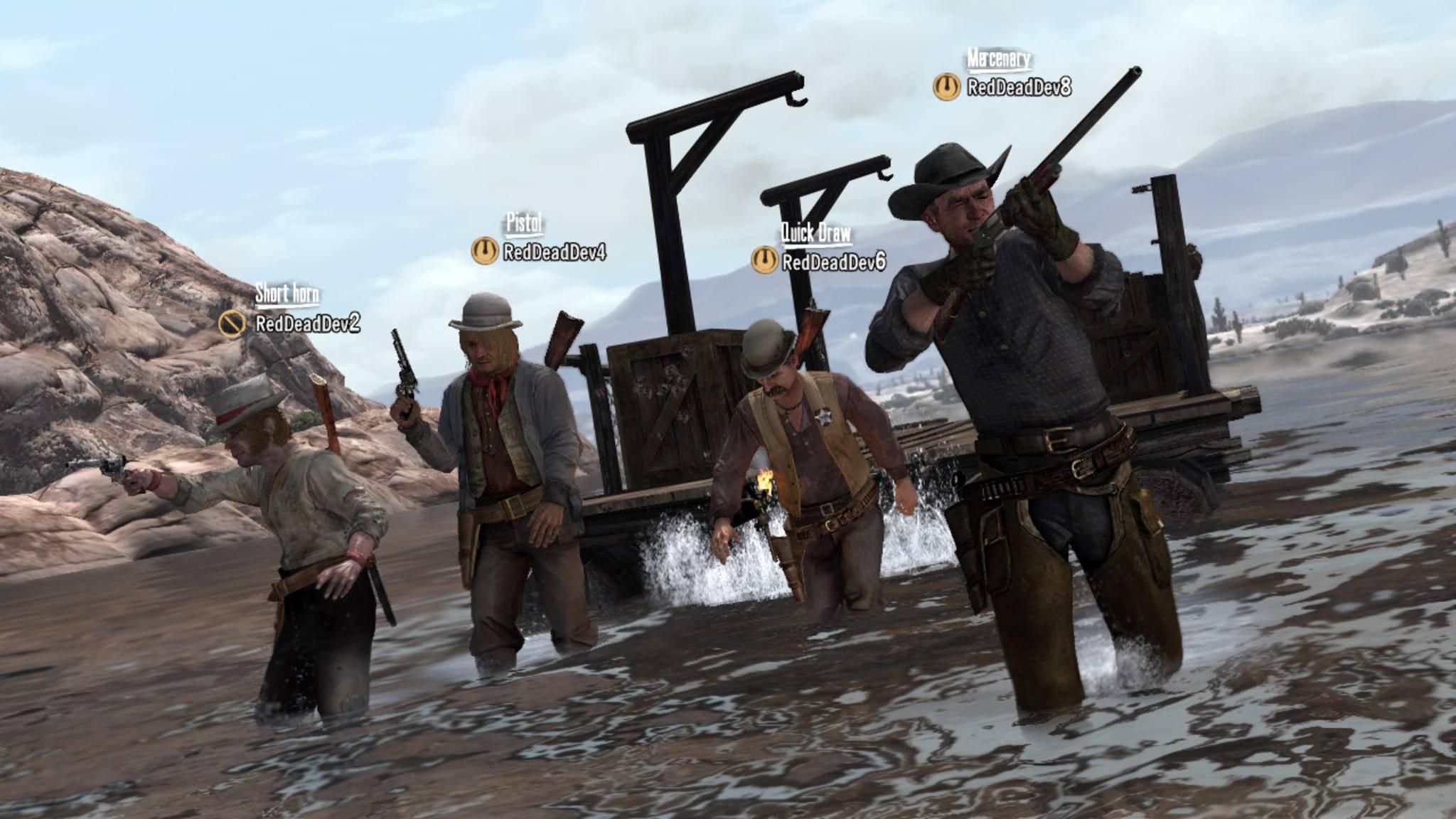 """Der Koop-Modus von """"Red Dead Redemption 1"""" sollte deutlich ausgebaut werden."""