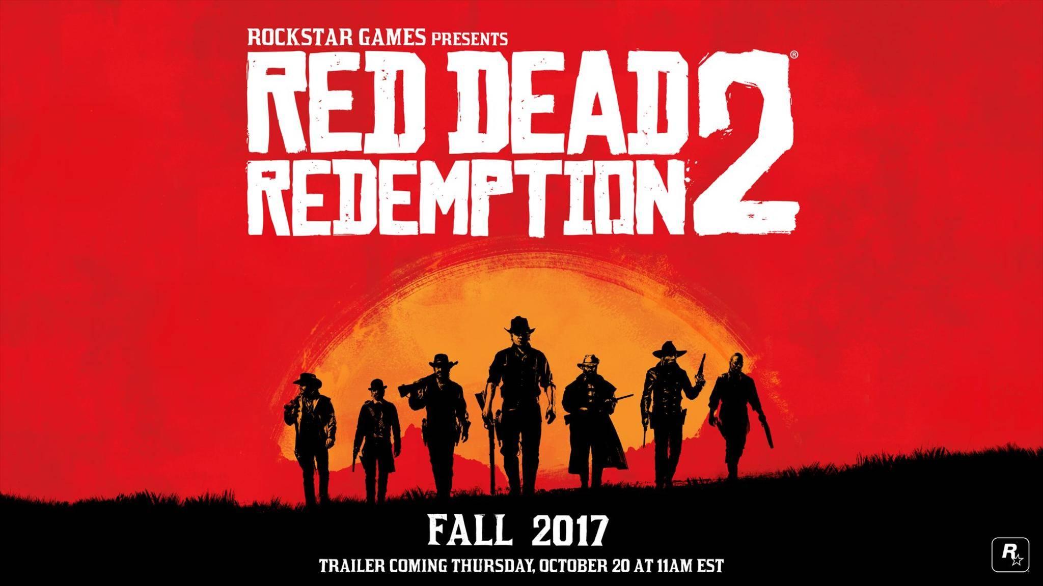 """Trotz der Verschiebung durchRockstar wird """"Red Dead Redemption 2"""" wohl auf der E3 gezeigt werden."""