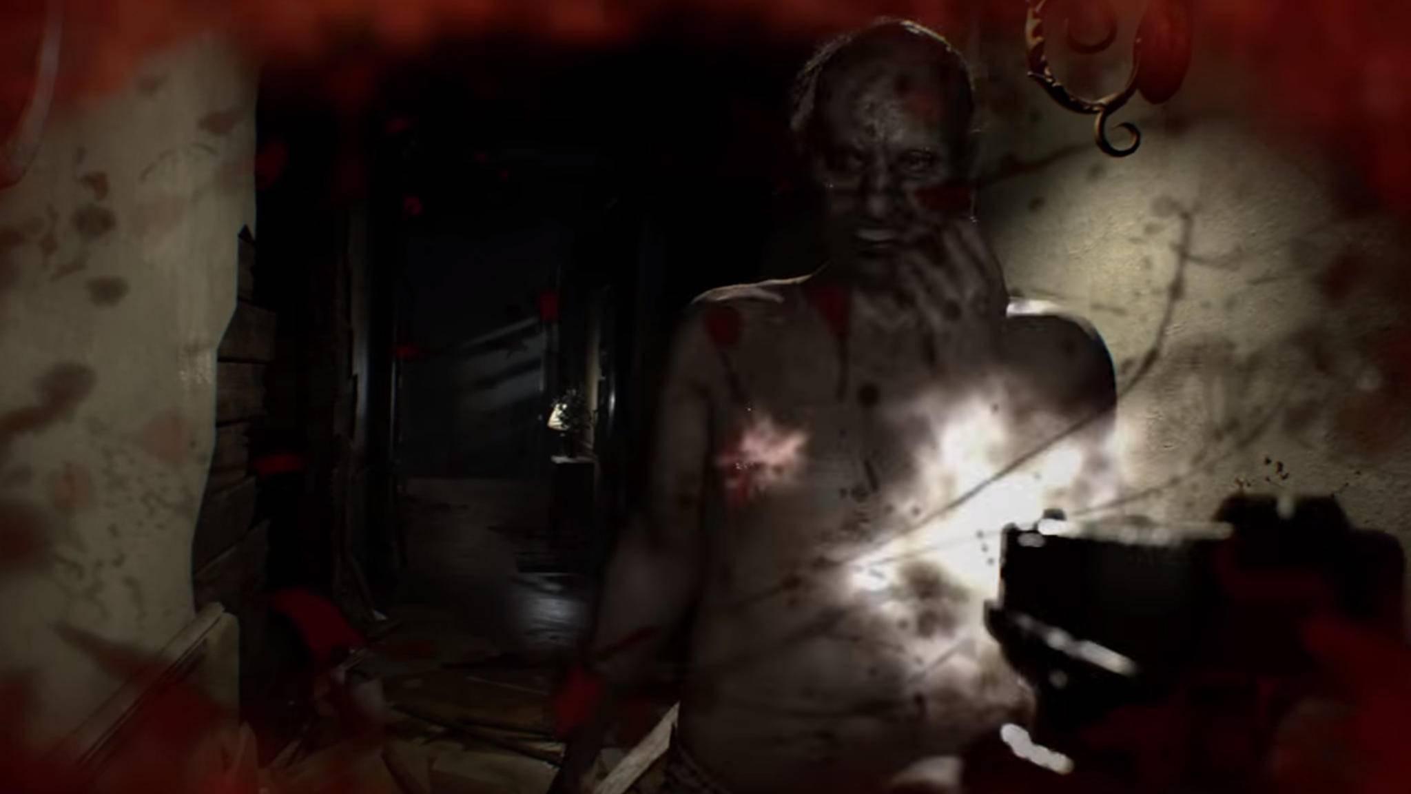 """Jack Baker im neuen """"Resident Evil 7""""-Trailer."""