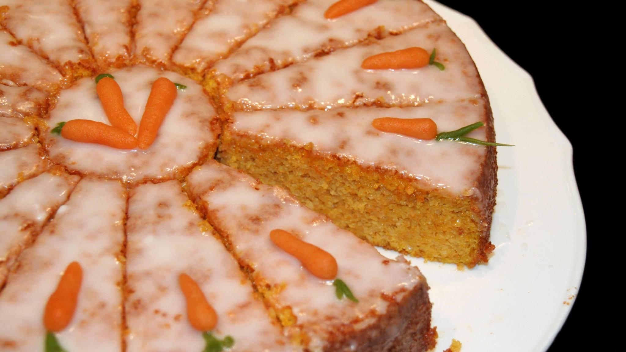 Rueblitorte karottenkuchen