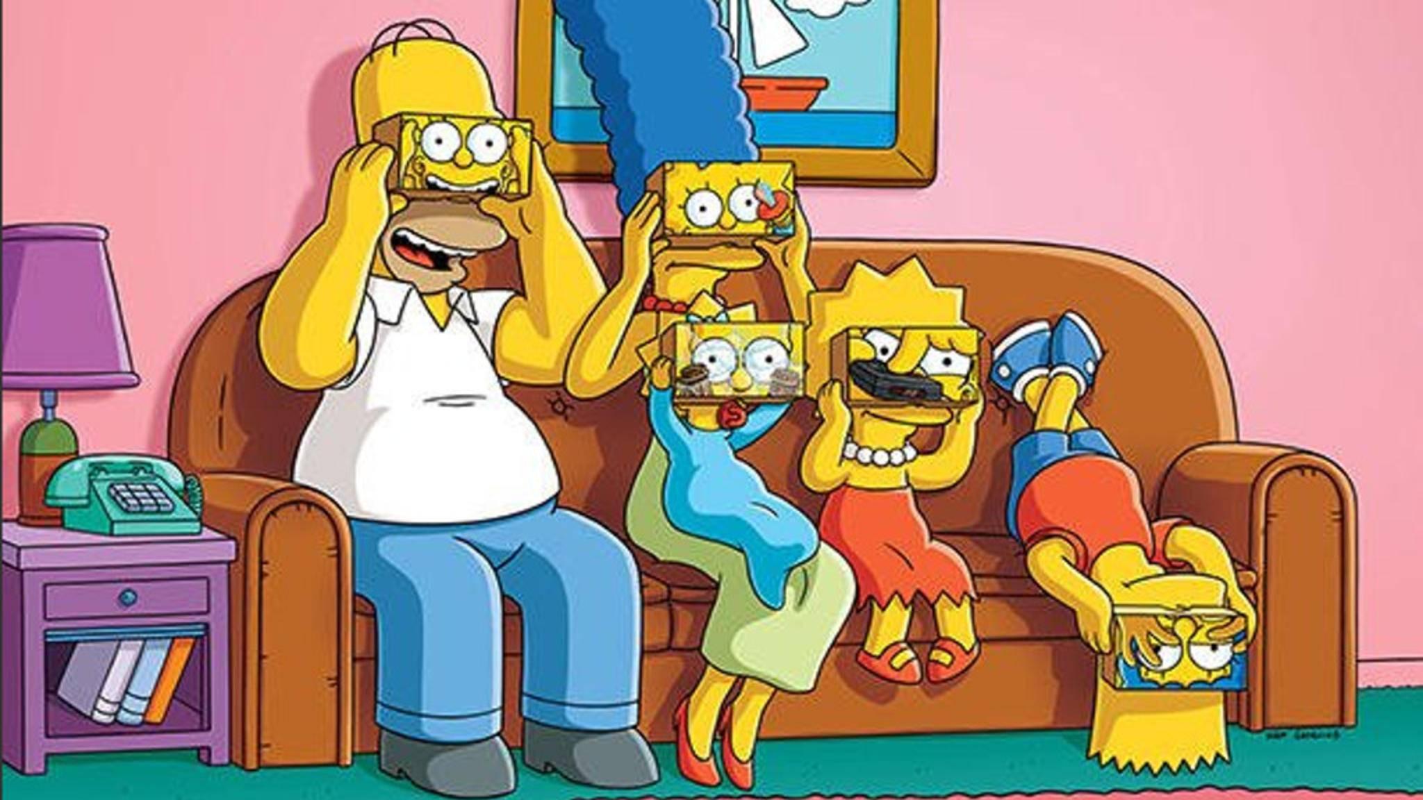 """""""Die Simpsons"""" kommen nun in Virtual Reality."""