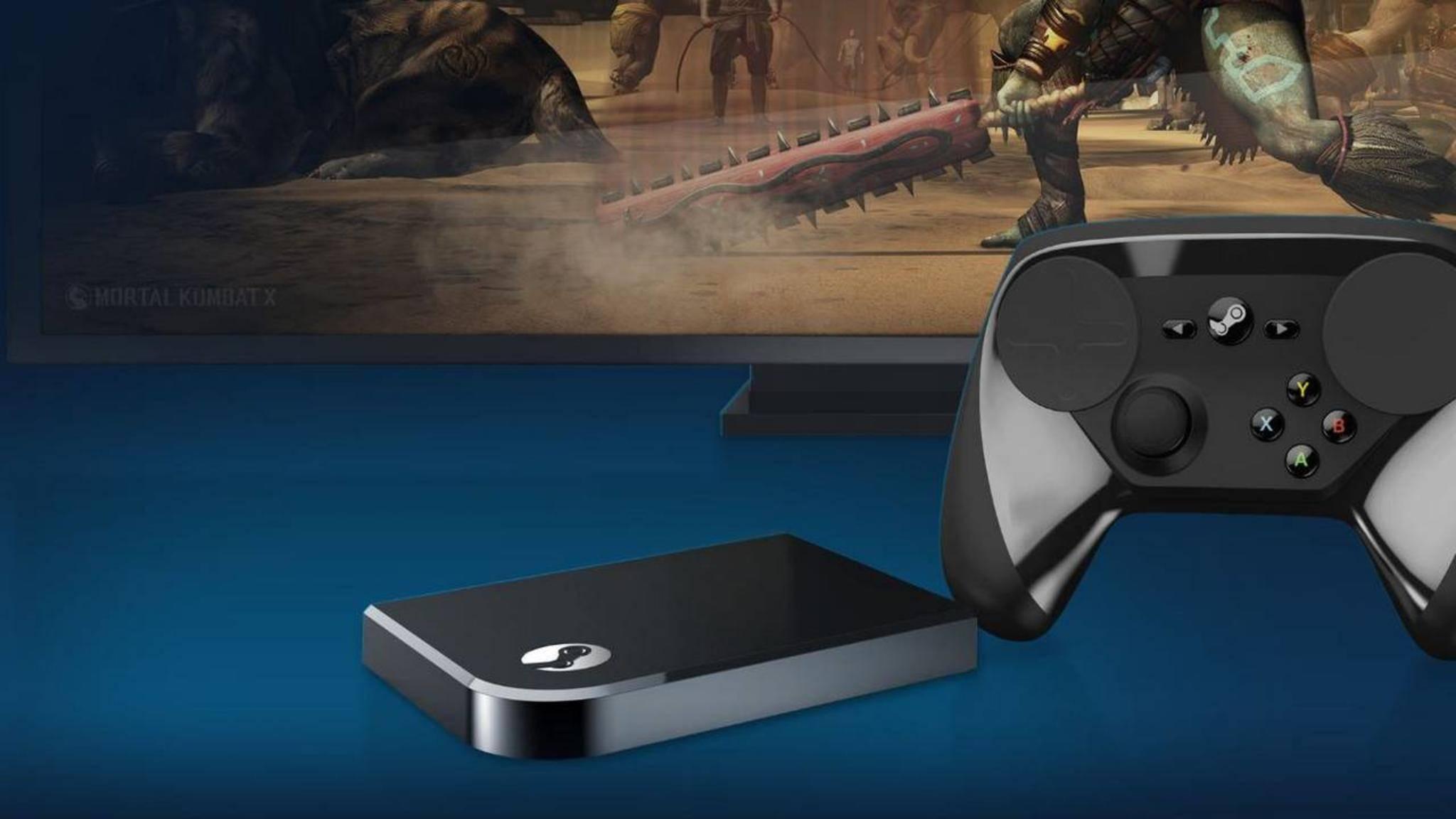 Der Steam Link soll künftig in Smart TVs von Samsung eingebaut werden.