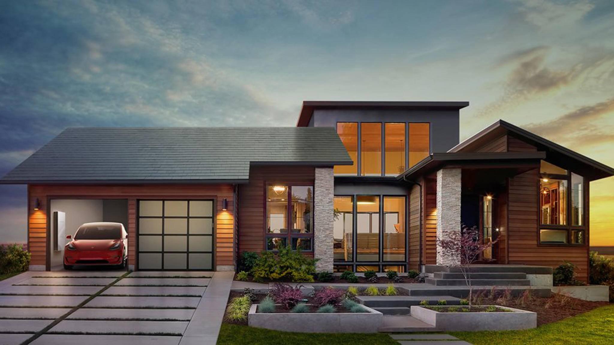 Wie Sie sehen, sehen Sie nichts: Sieht so das Solardach der Zukunft aus?