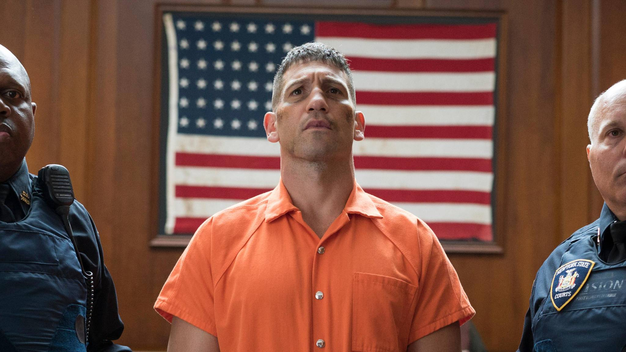 "Jon Bernthal als Punisher in ""Daredevil""."