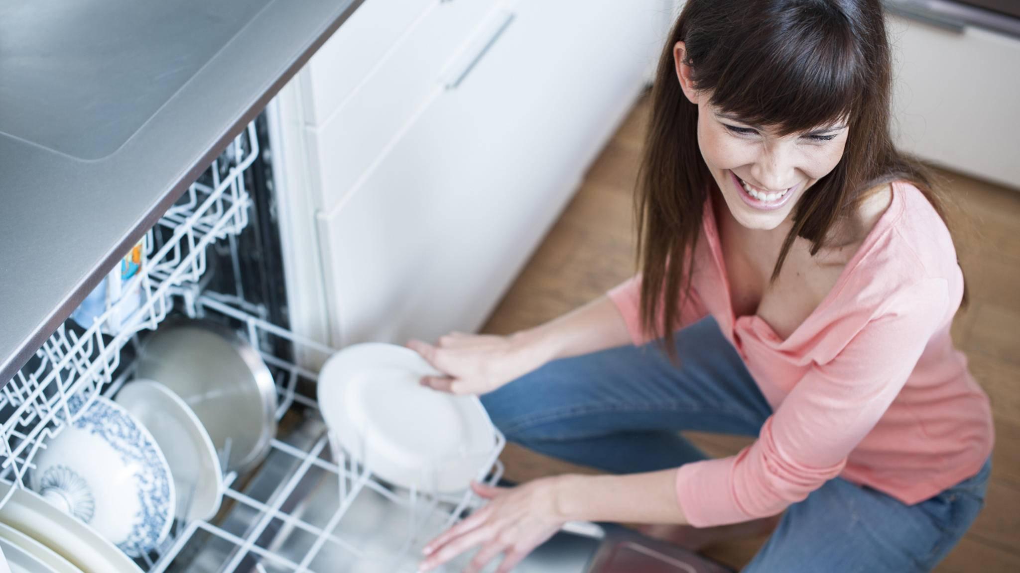Nicht nur Geschirr wird in der Spülmaschine sauber.